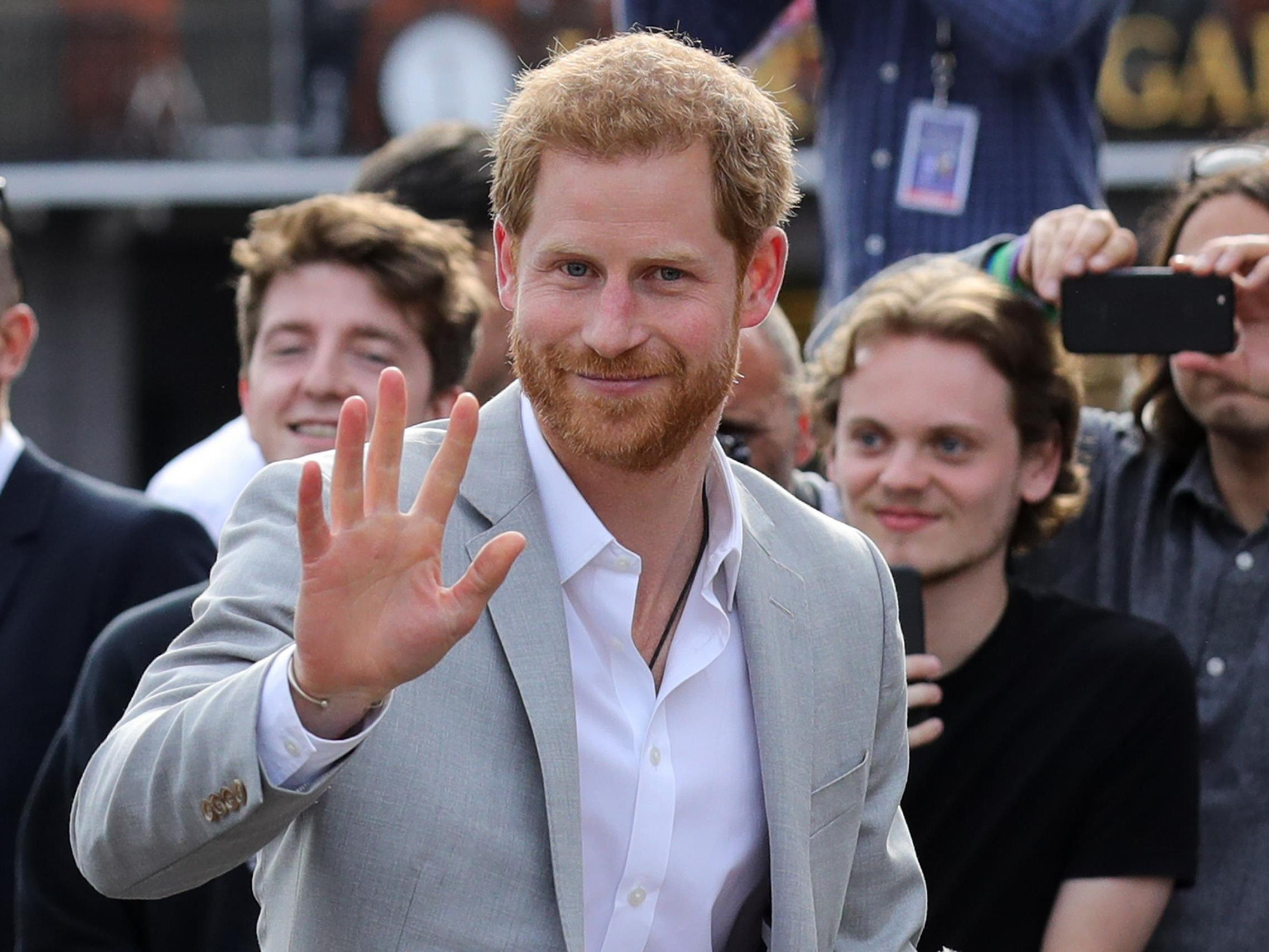 Prince Harry opens up about mental health as he carries out first engagement since royal announcement