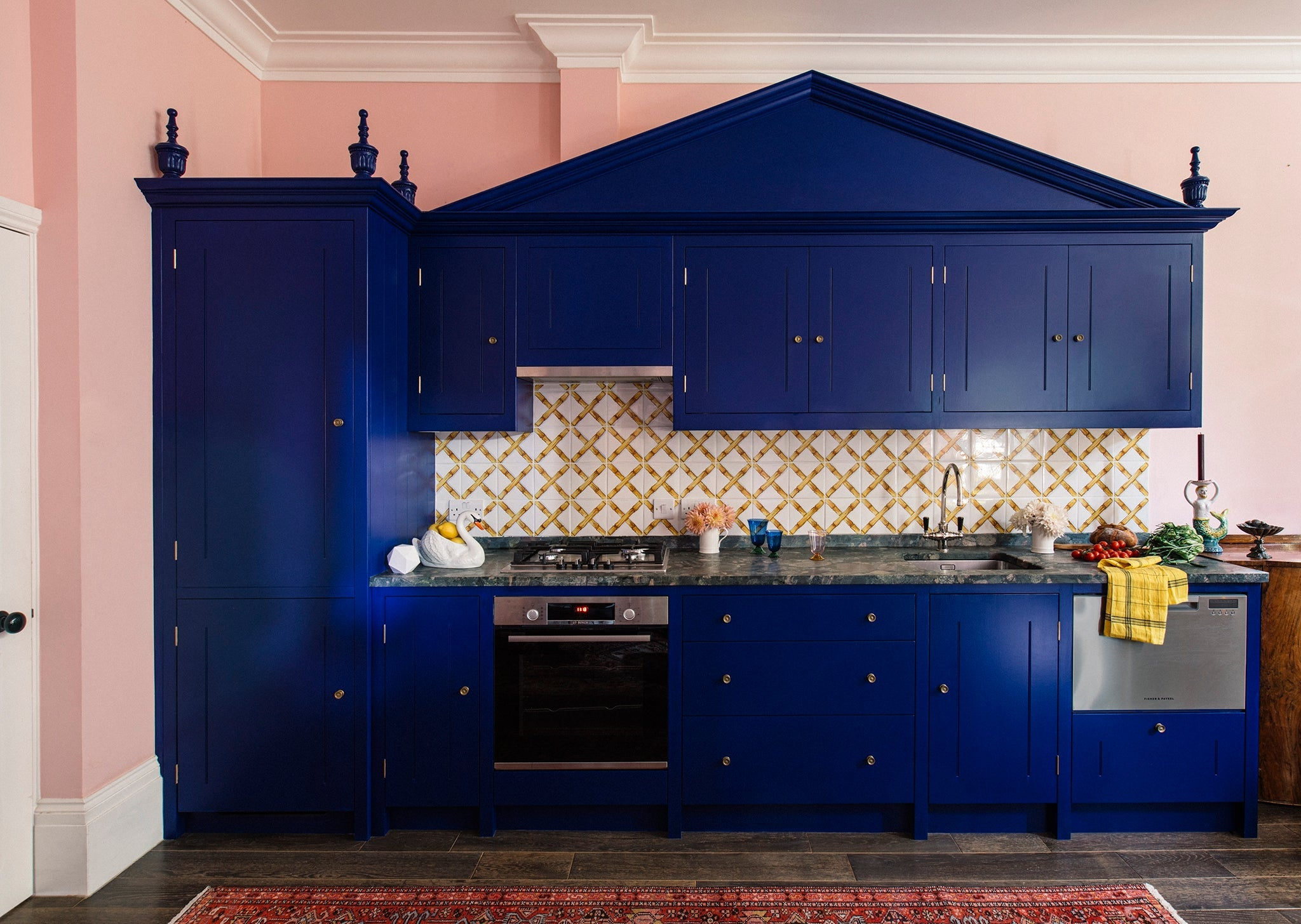 Kitchen trends for 2020: Pops of colour and textural surfaces