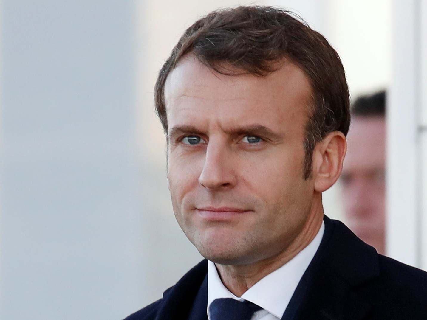 Emmanuel Macron Evacuated From Theatre As Protesters Try To Find Him The Independent The Independent