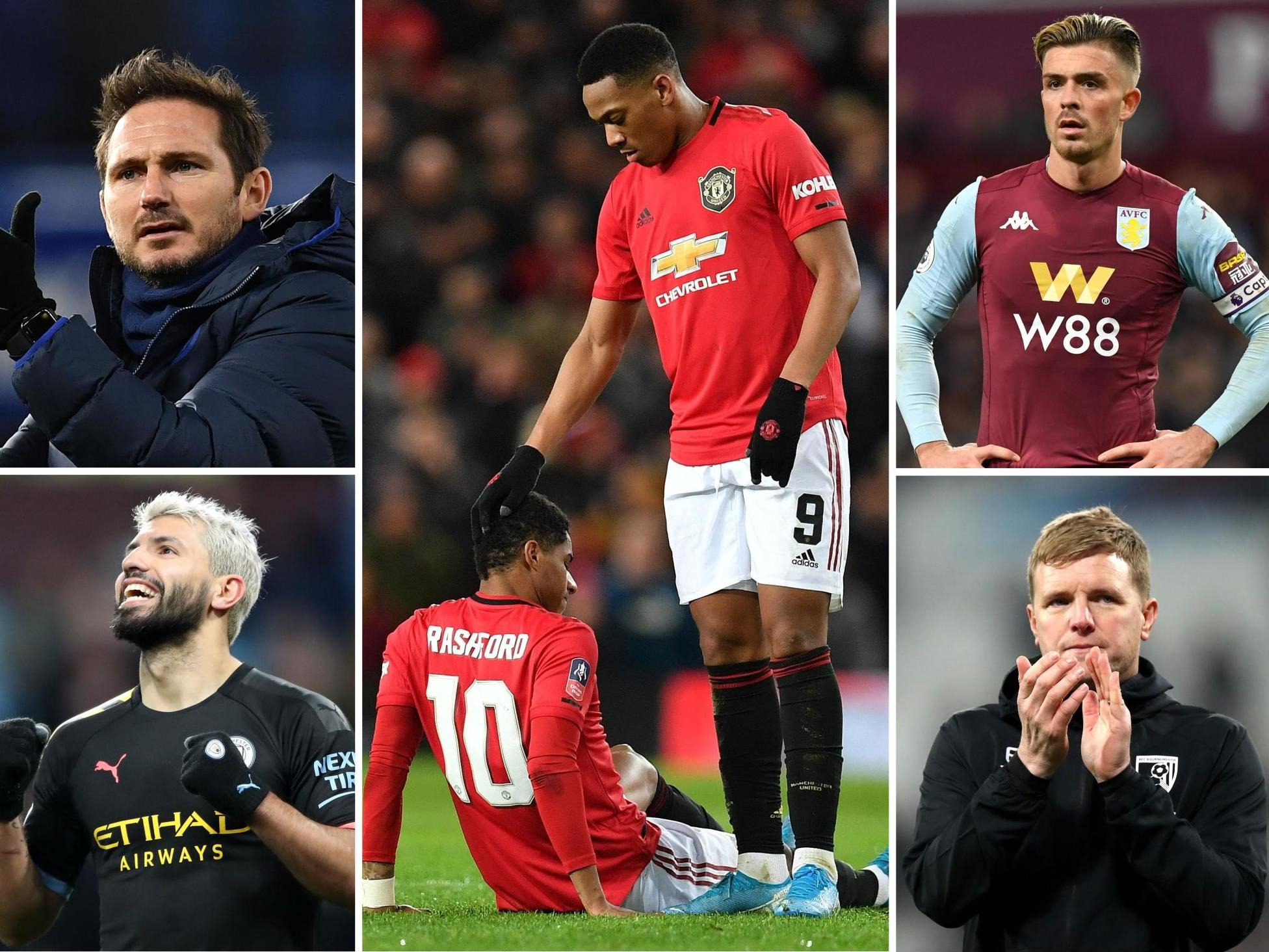 Premier League fixtures: Marcus Rashford's injury hurts United's plan for Liverpool as bottom two collide
