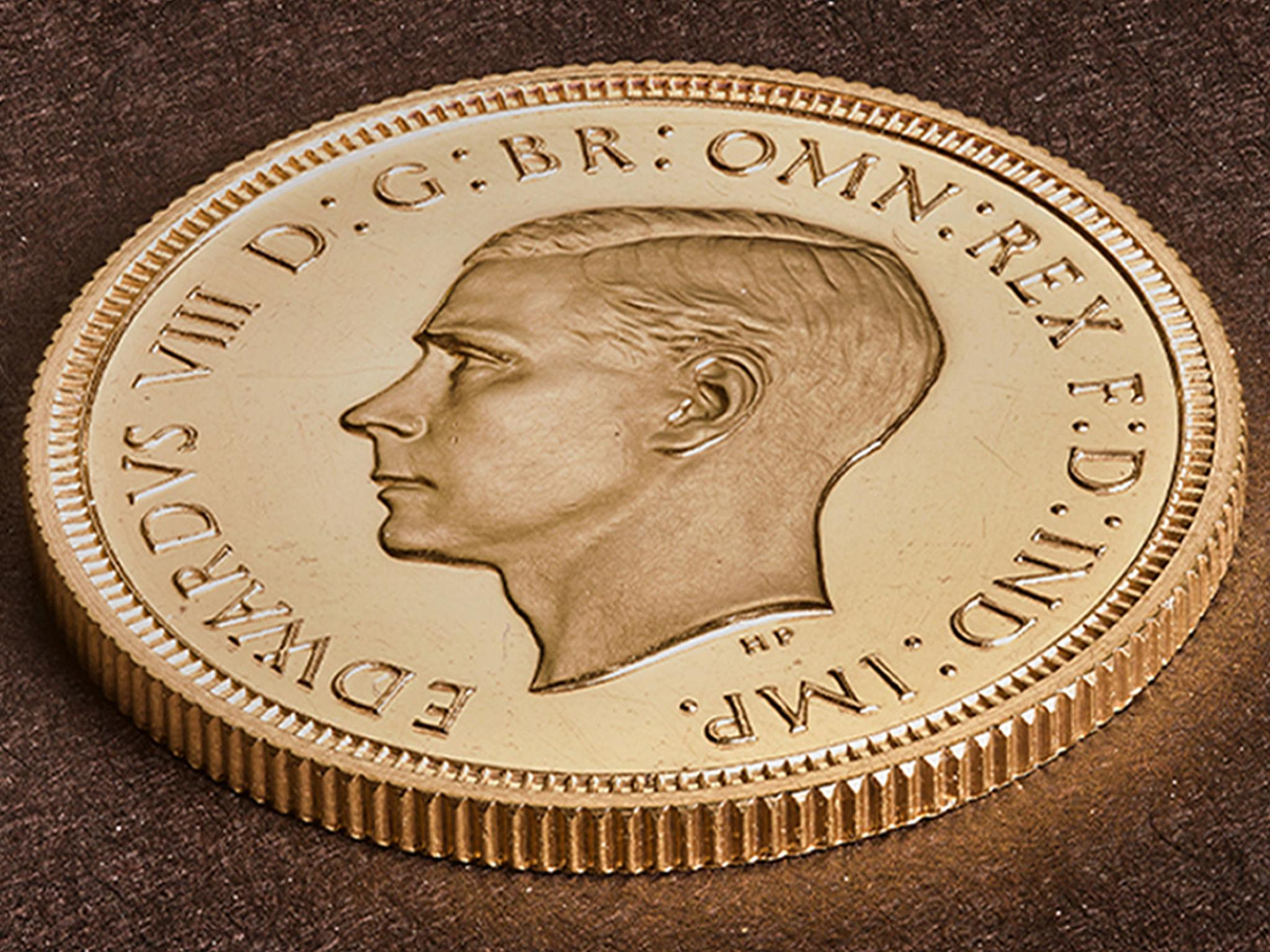 Rare Edward VIII coin sells for record £1m
