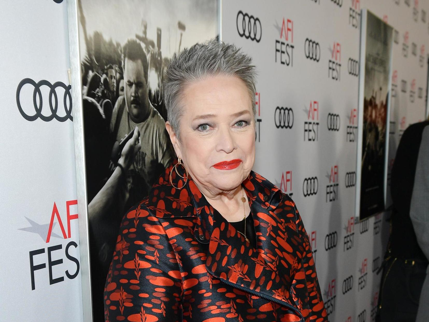 Kathy Bates says 'in her day' women knew exactly 'why they were going' to men's hotel rooms