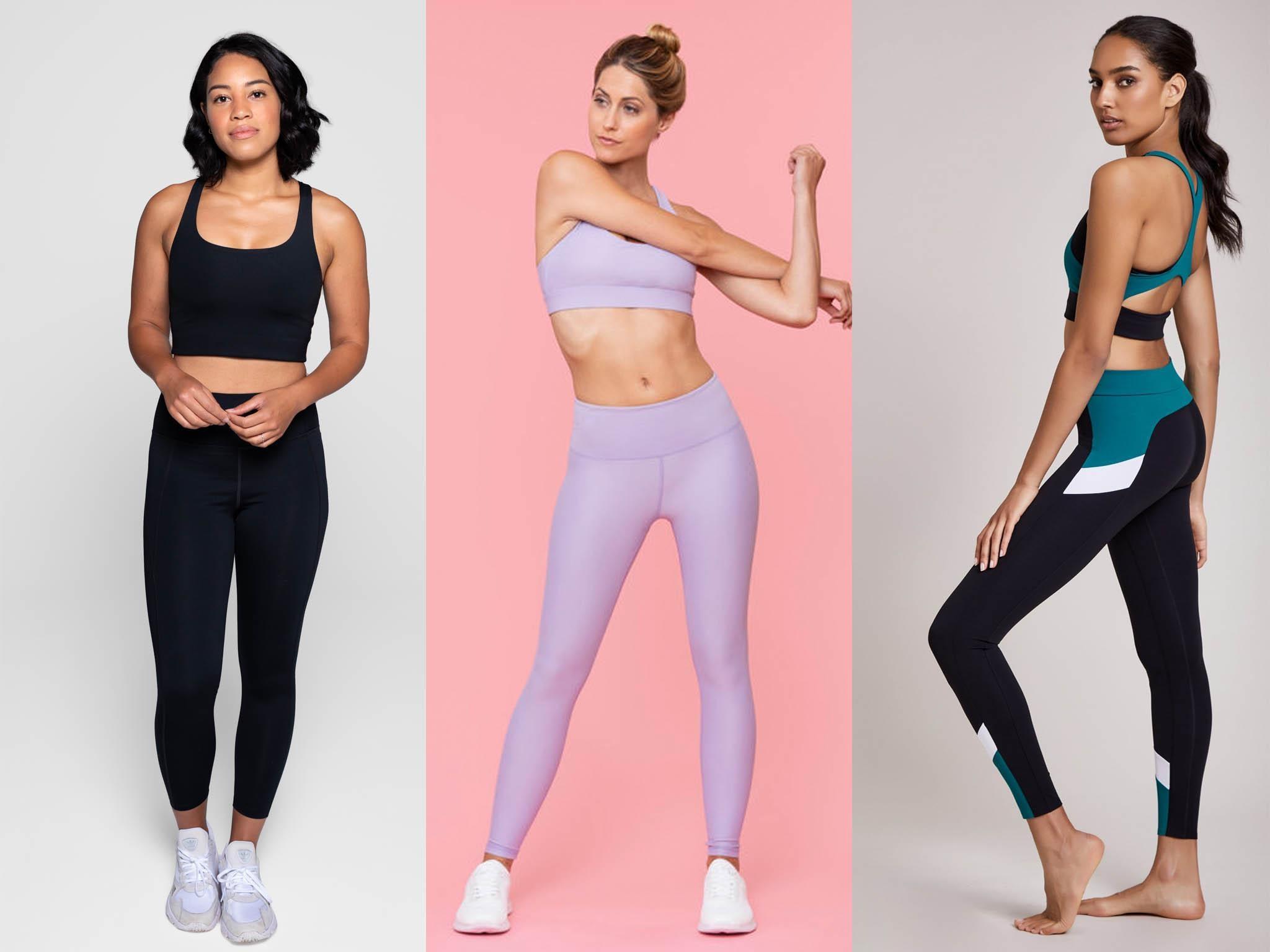 Seamless Women Yoga Pants High Waist Gym Sportswear Training Fitness Leggings UK