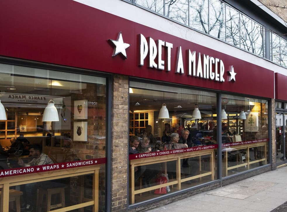 Pret says it will also 'reduce headcount' across many of its remaining 380 shops