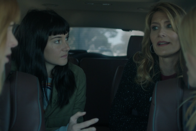 Nicole Kidman, Shailene Woodley, Laura Dern and Reese Witherspoon in Big Little Lies.