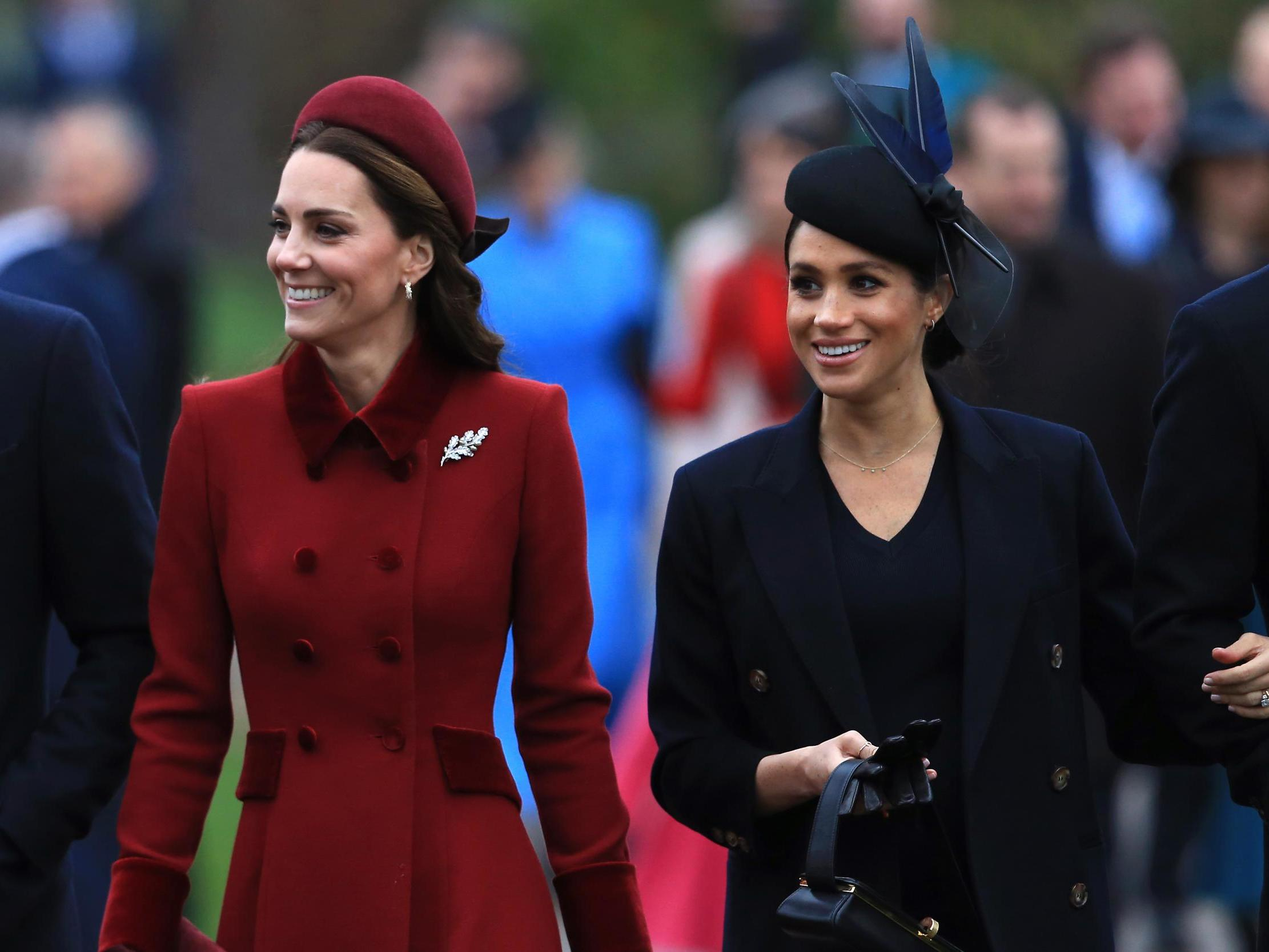Meghan Markle 'gets twice as much negative press' as Kate Middleton, data shows