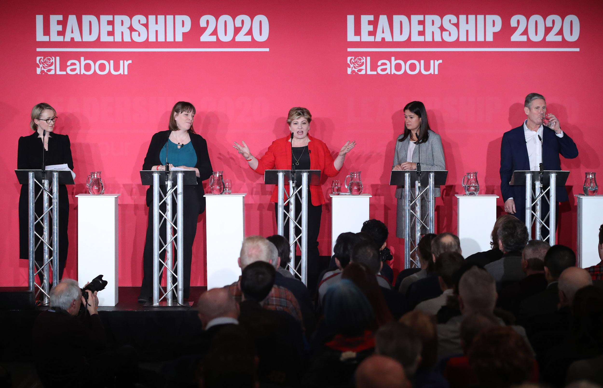 Labour leadership candidates clash over antisemitism as Jess Phillip…