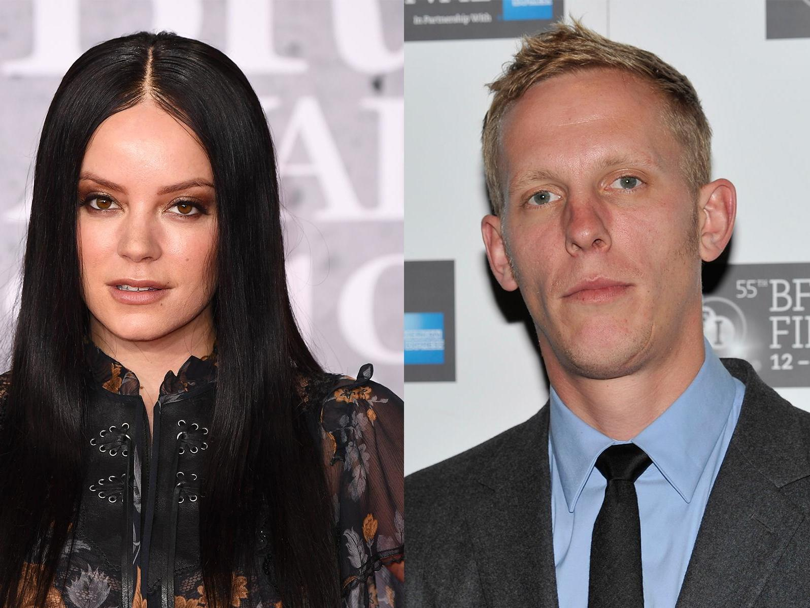 Lily Allen 'tells Laurence Fox to stick to acting' following white privilege debate