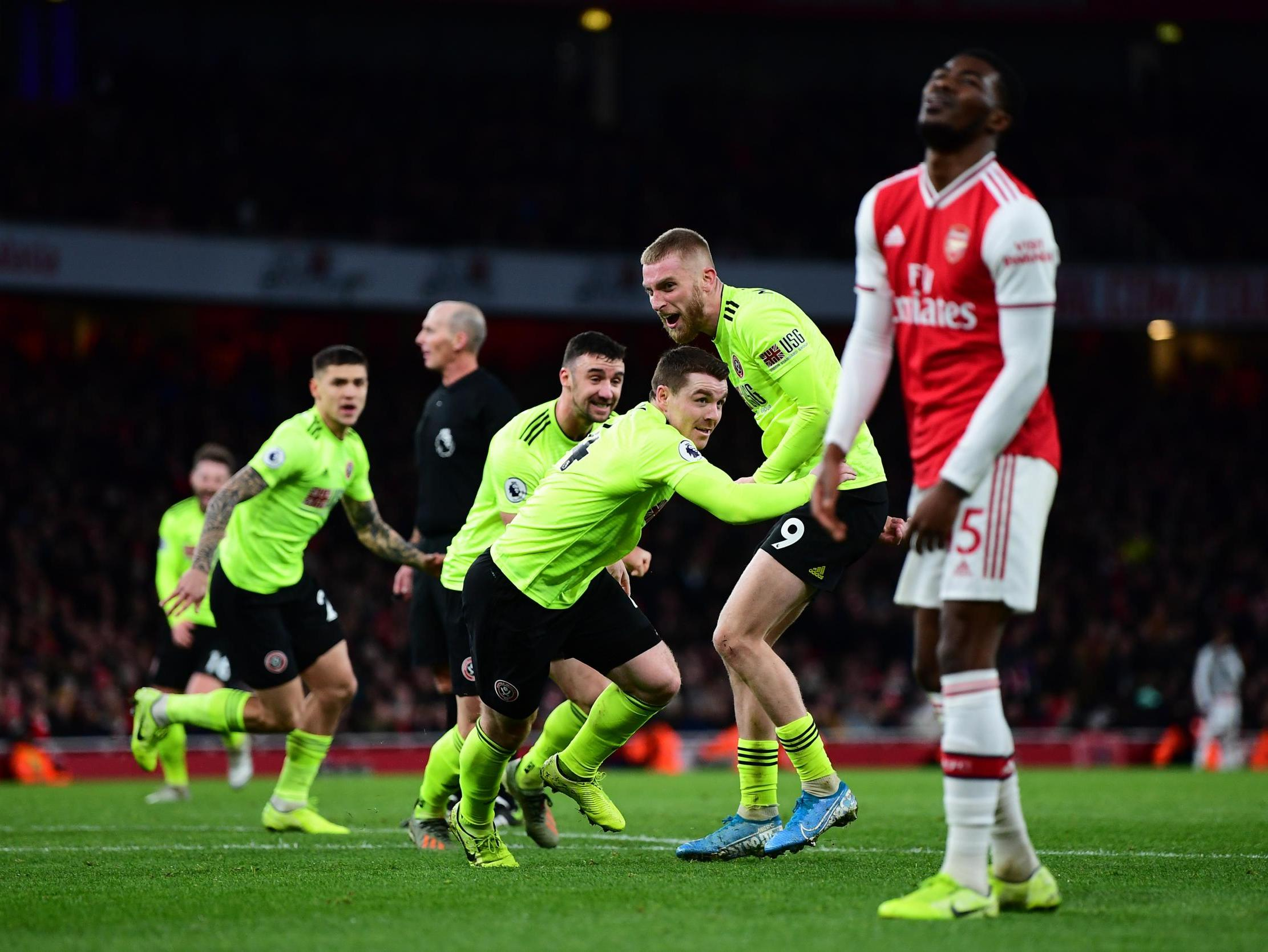 Arsenal vs Sheffield United: Five things we learned as the Blades rescue point with late goal at the Emirates