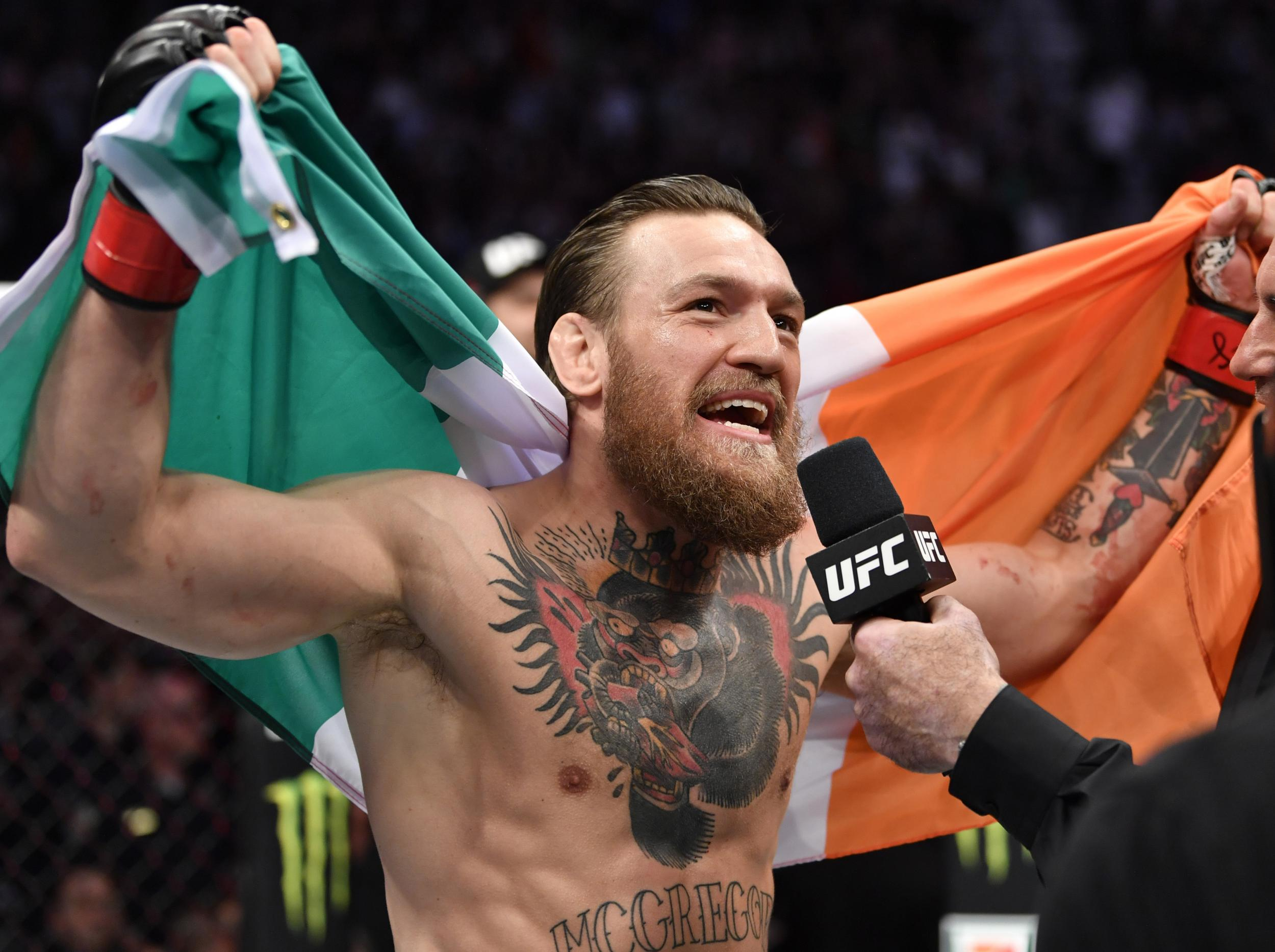 Conor McGregor vs Cowboy, post-fight press conference LIVE: Watch McGregor speak after 40 second knockout win
