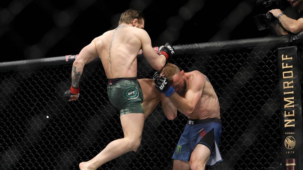 The story of McGregor vs Cerrone