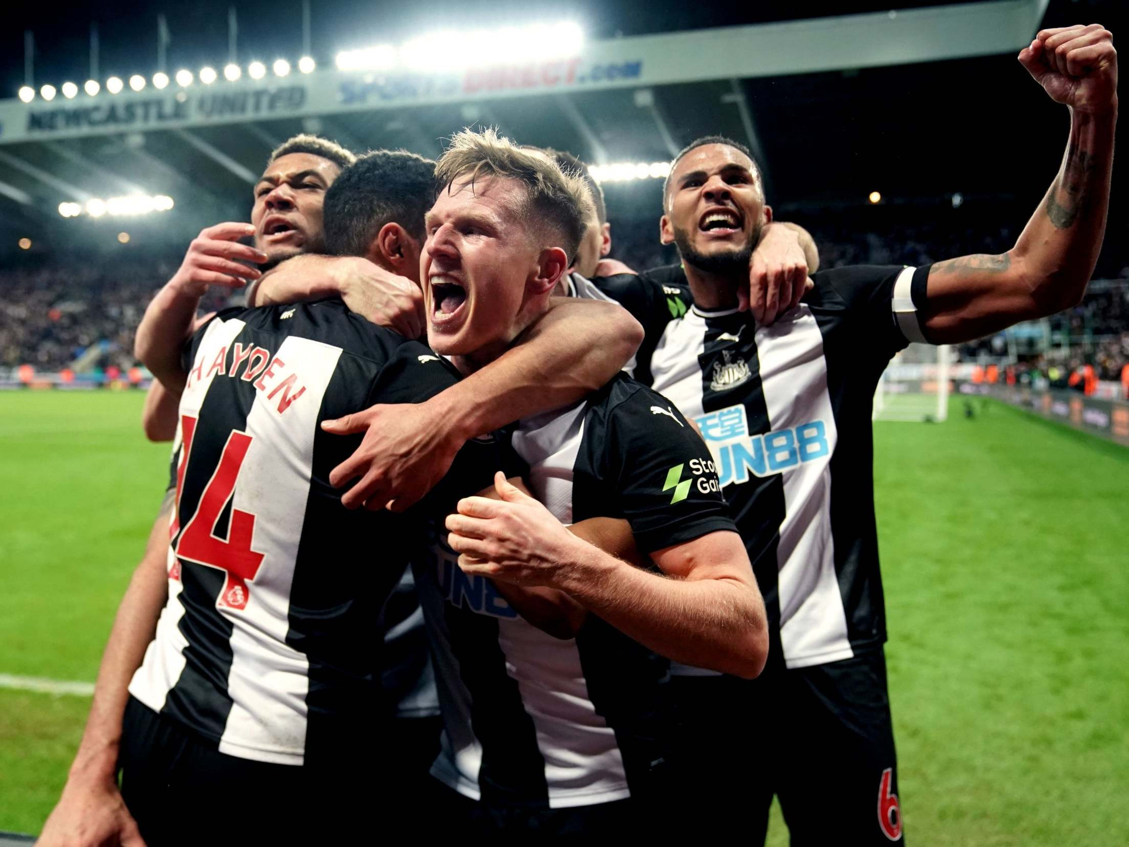 Newcastle Vs Chelsea Isaac Hayden On His Match winning Goal The Independent The Independent