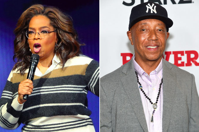 Oprah Winfrey claims Russell Simmons tried to 'pressure' her to drop documentary about sexual assault allegations