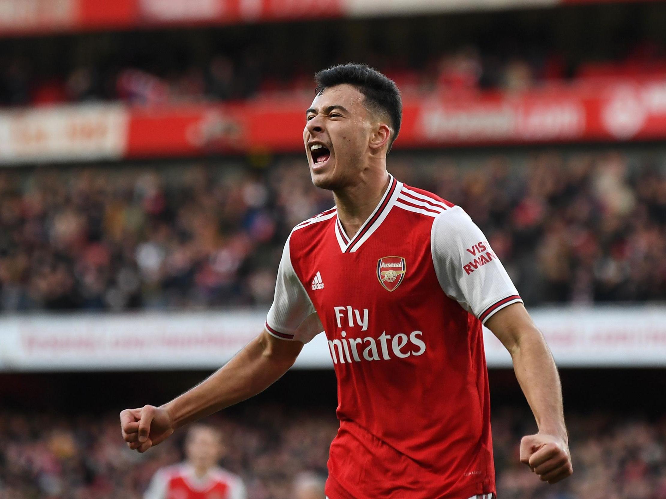 Mikel Arteta praises the impact of Arsenal goalscorer Gabriel Martinelli