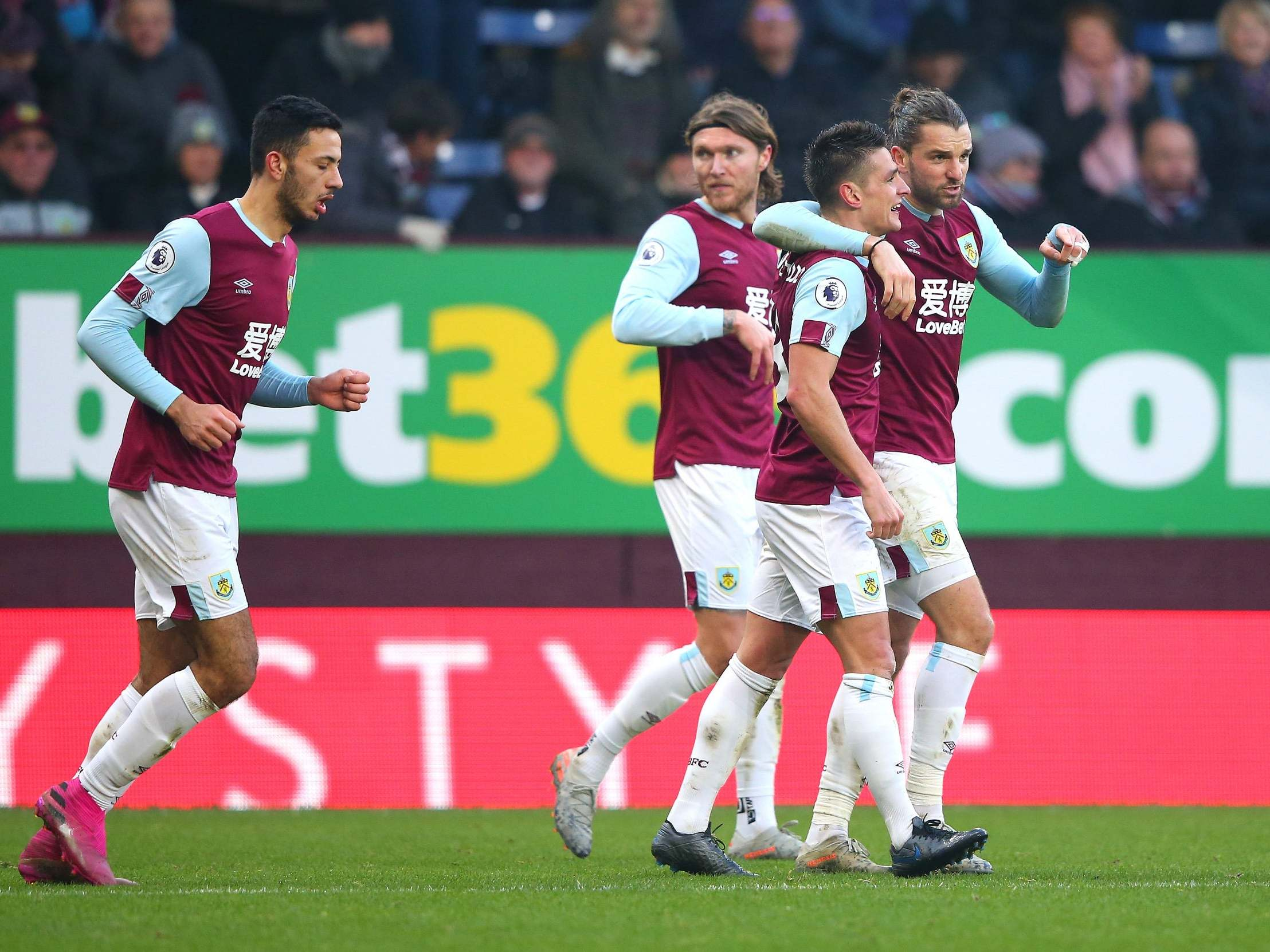Ashley Westwood completes Burnley comeback as Leicester pay for Jamie Vardy's penalty miss