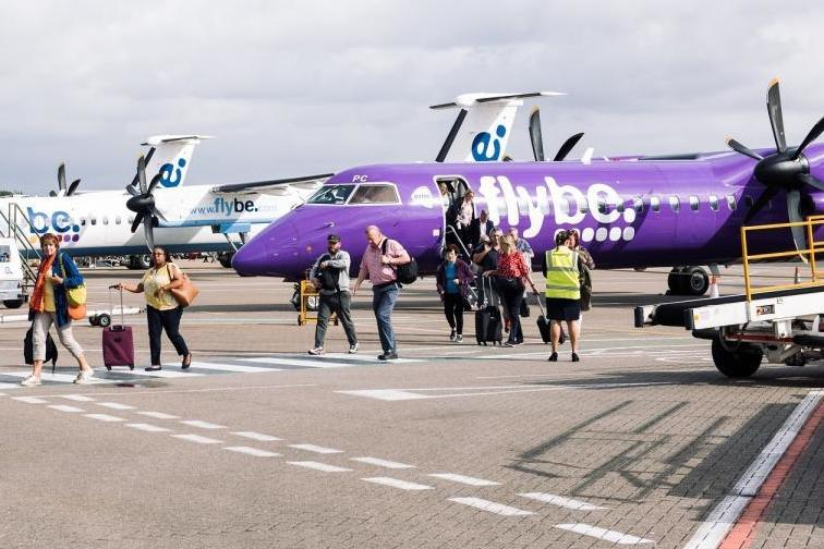 Flybe collapse could close Southampton and Belfast airports, says MP