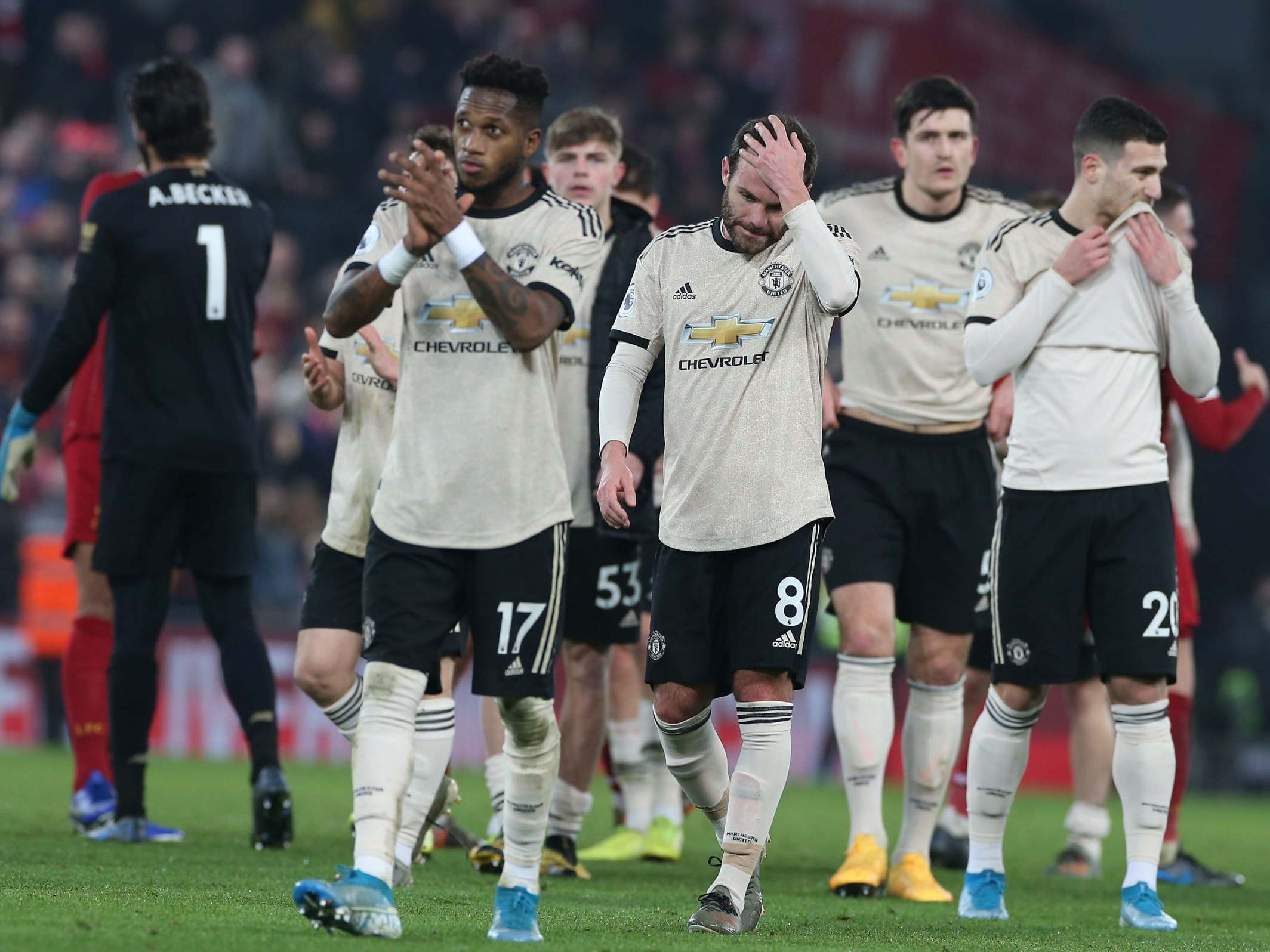 Don't be fooled, lightweight Manchester United are no longer on Liverpool's level