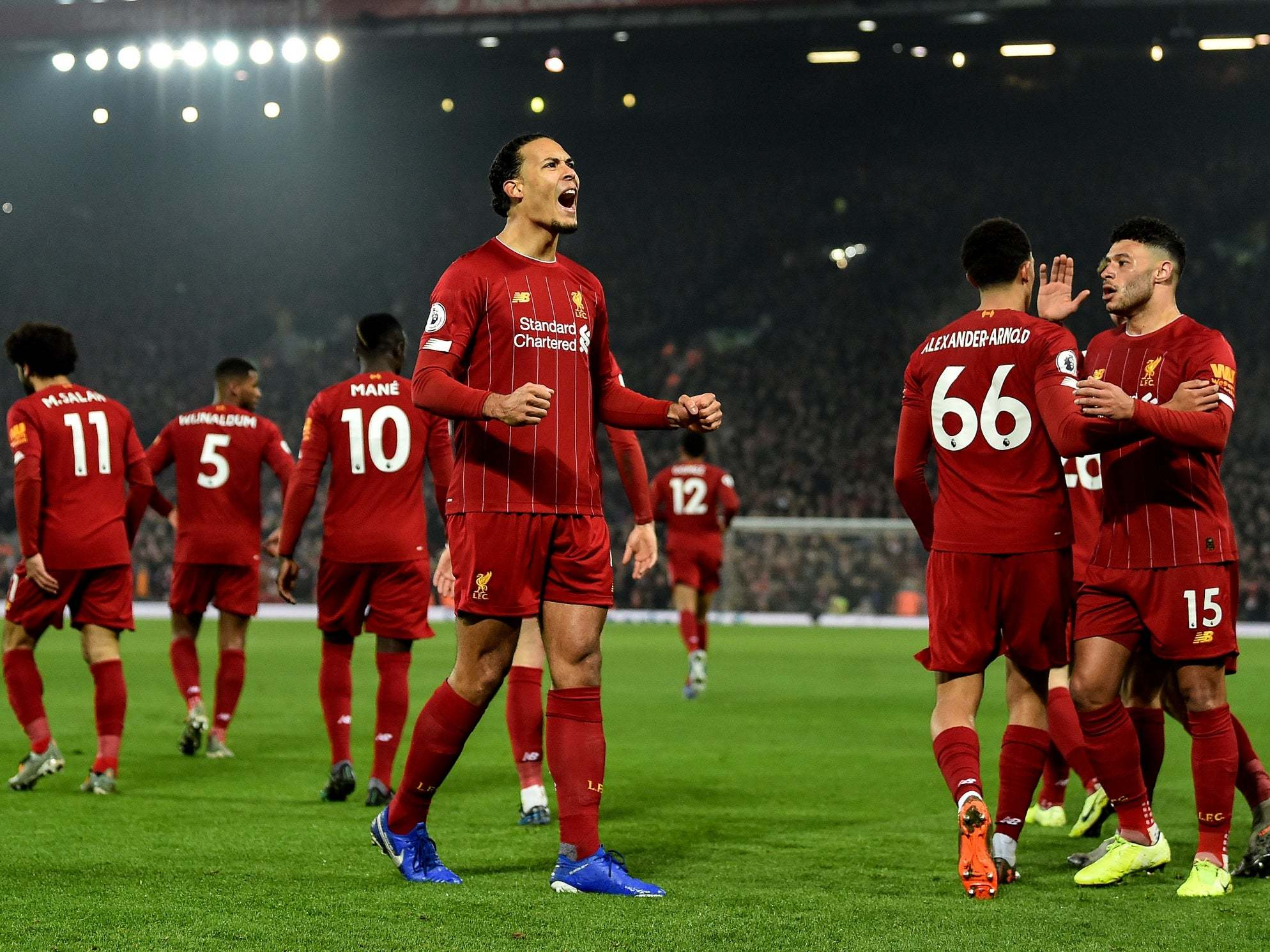 Liverpool fans think they've won the league – and everyone else should believe them