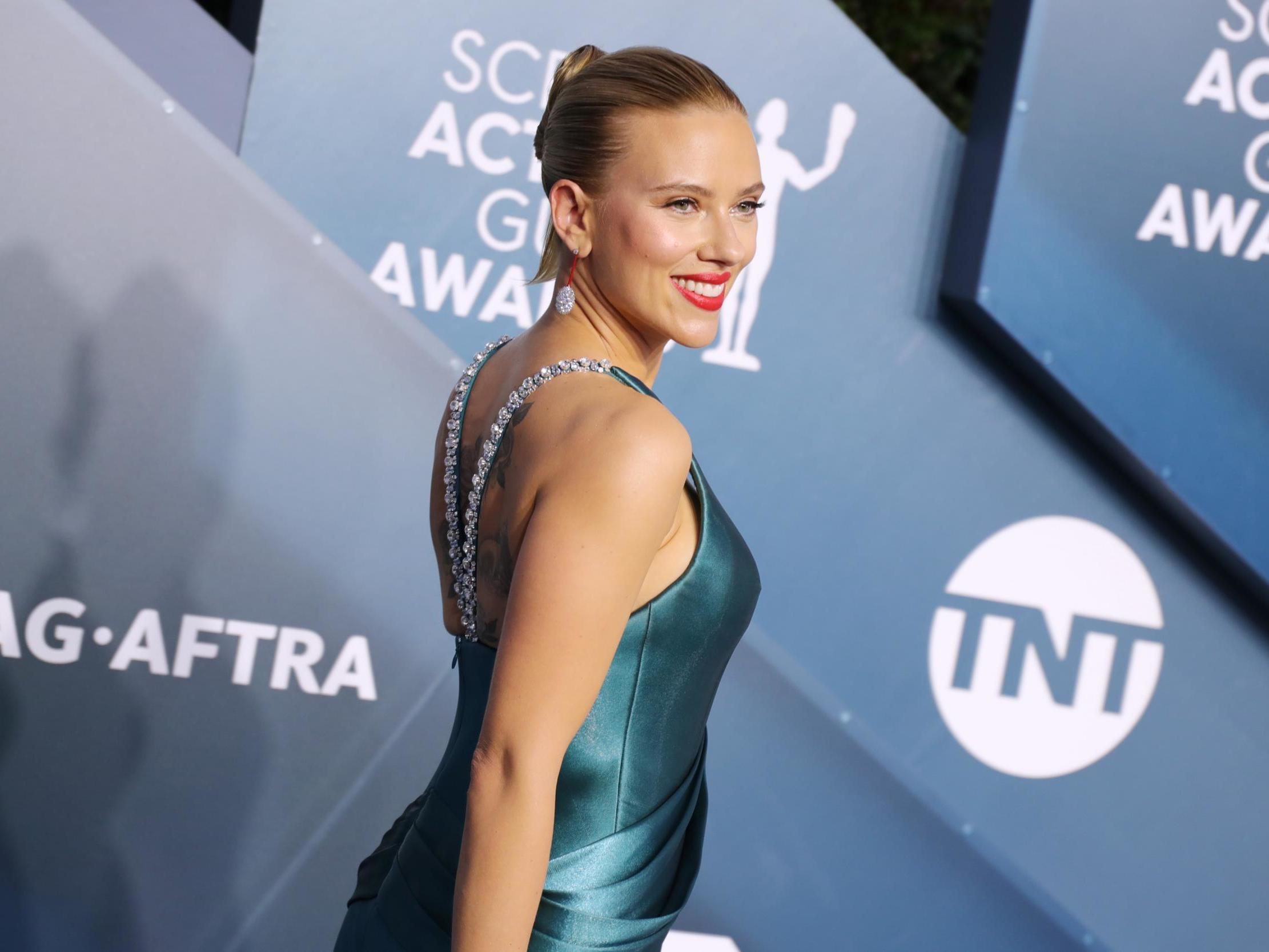 SAG Awards 2020: Jennifer Aniston and Scarlett Johansson among best-dressed stars on red carpet