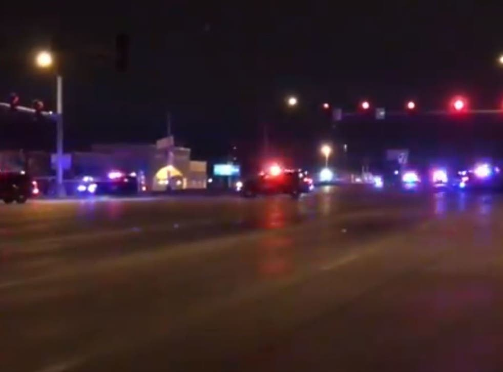 A shooter opened fire on a nightclub queue in Kansas City