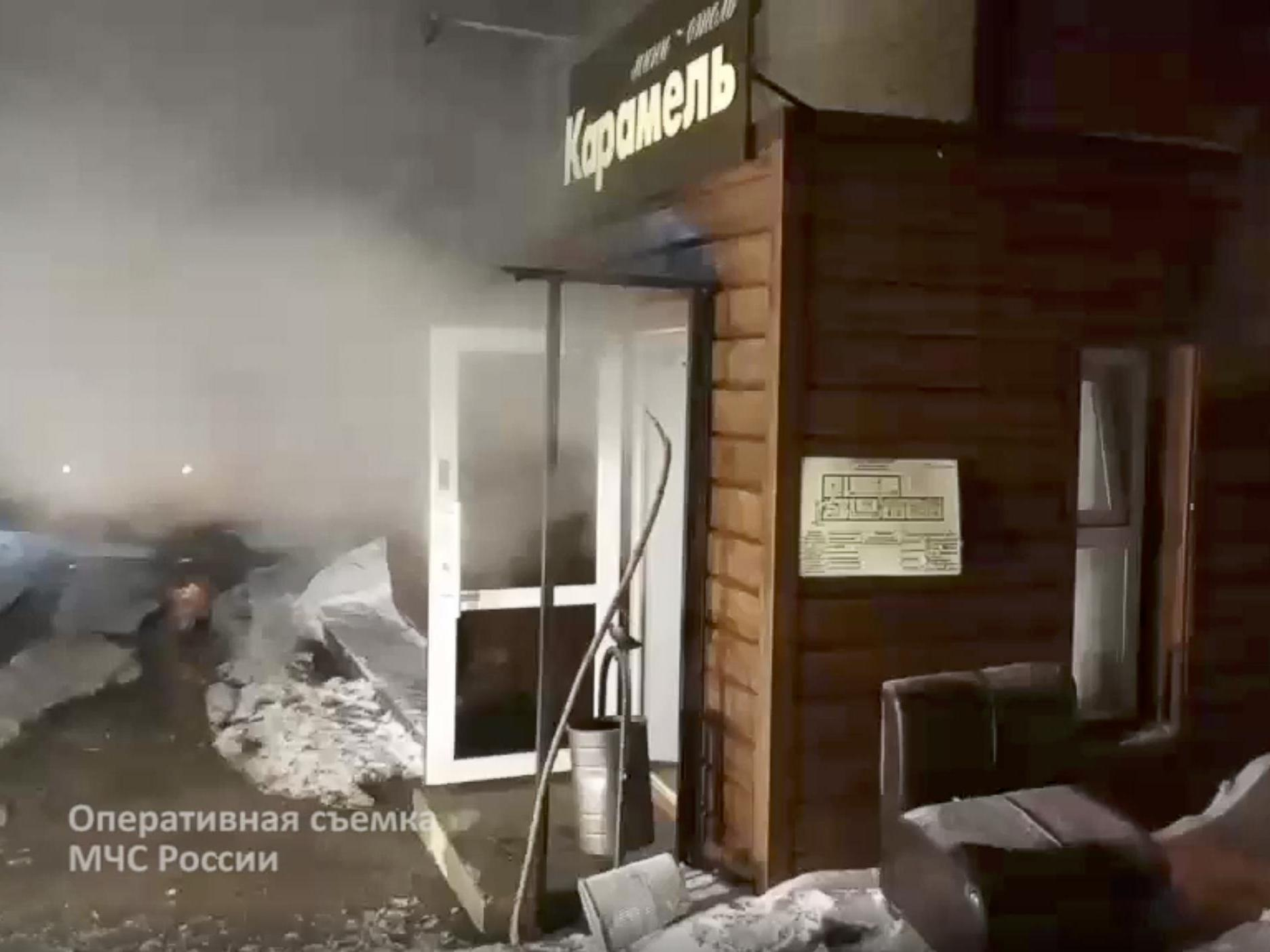 Five dead after boiling water floods Russian hotel room