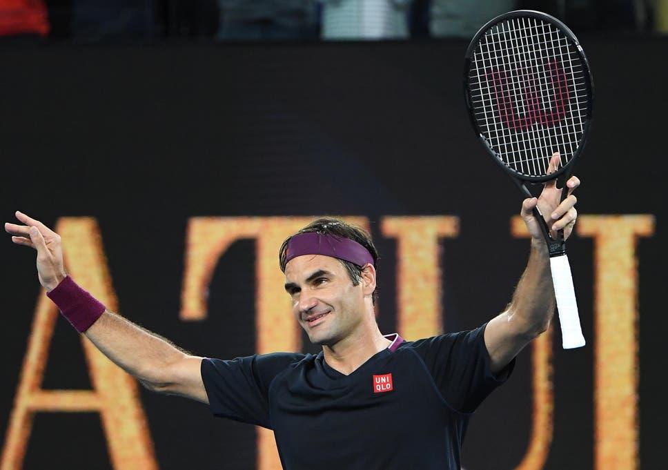 Australian Open 2020 Roger Federer Breezes Into Second
