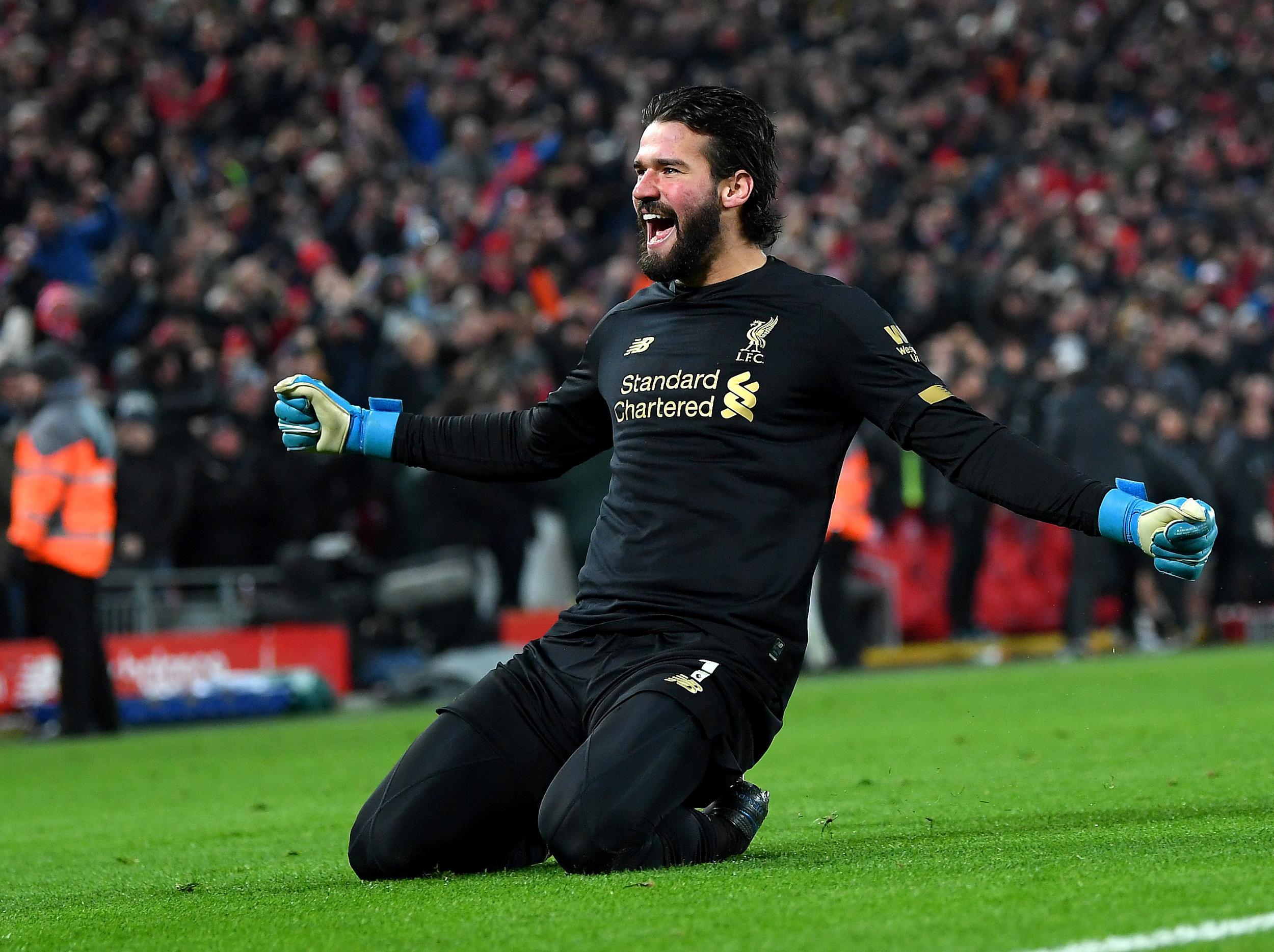 Liverpool manager Jurgen Klopp praises goalkeeper Alisson Becker for making the difficult look easy