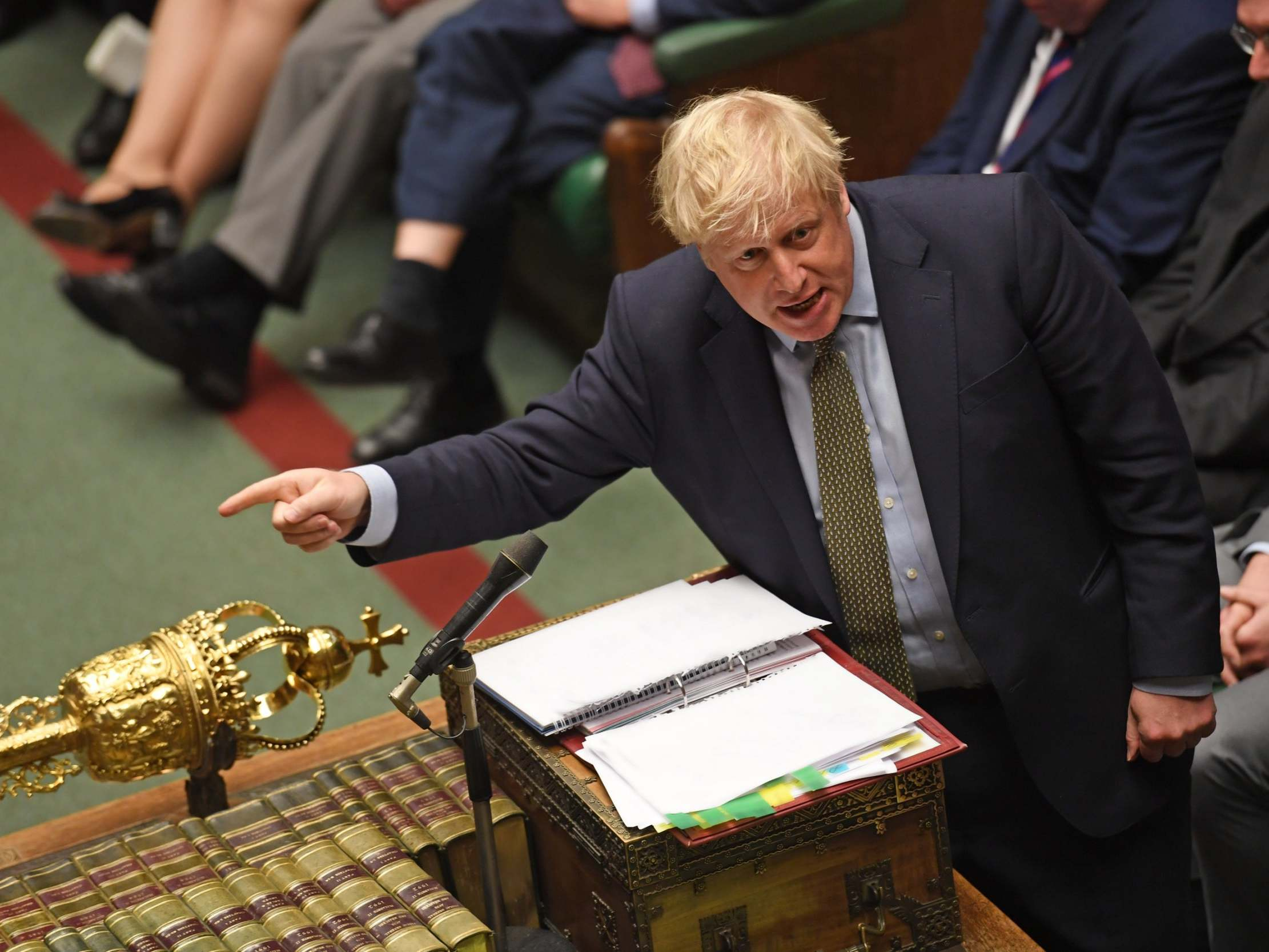 Boris Johnson forced to retreat on false claim life expectancy gap b…
