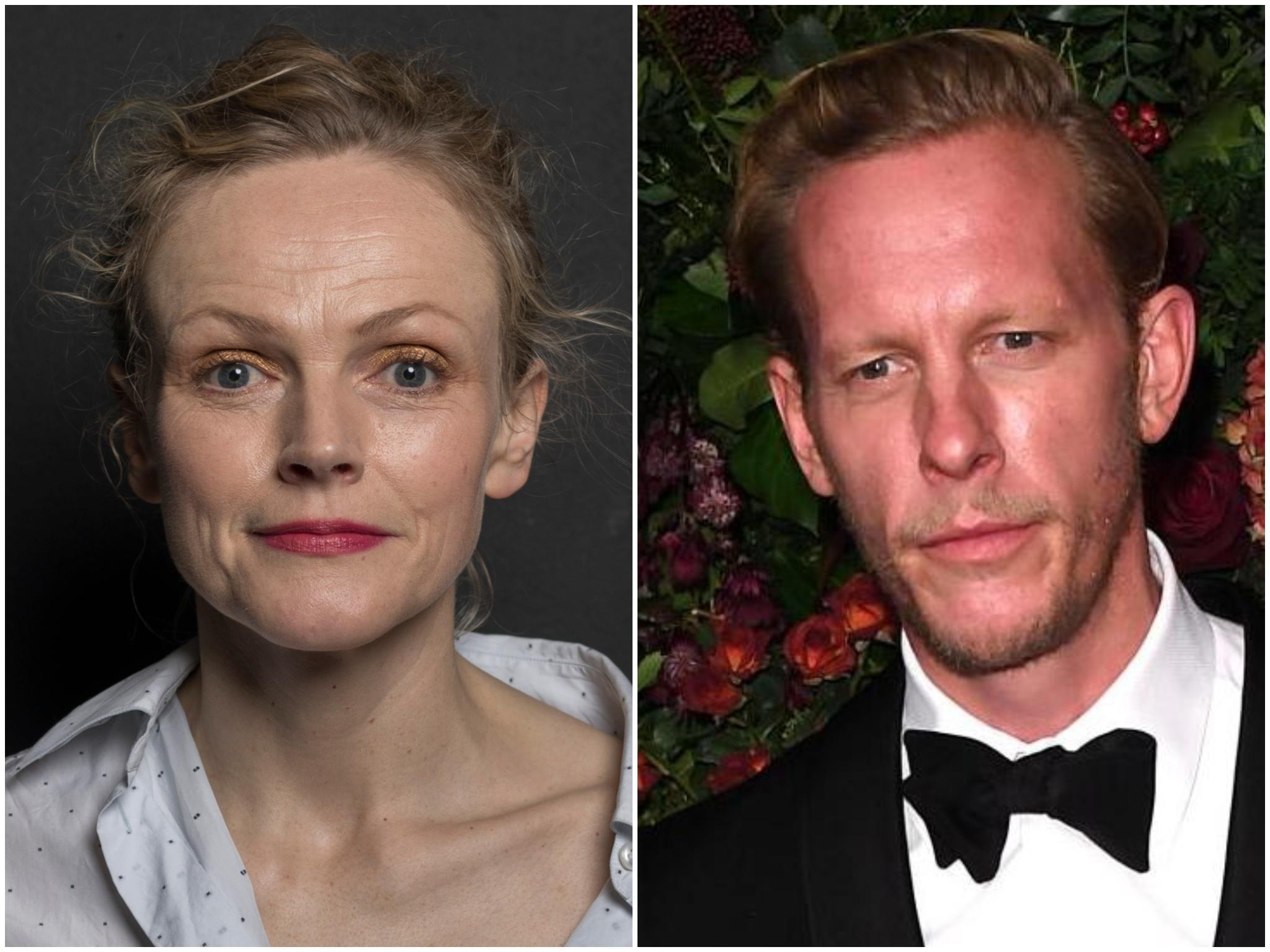 Maxine Peake tears into Laurence Fox over 'right wing' views and accuses of him of 'wanting attention'