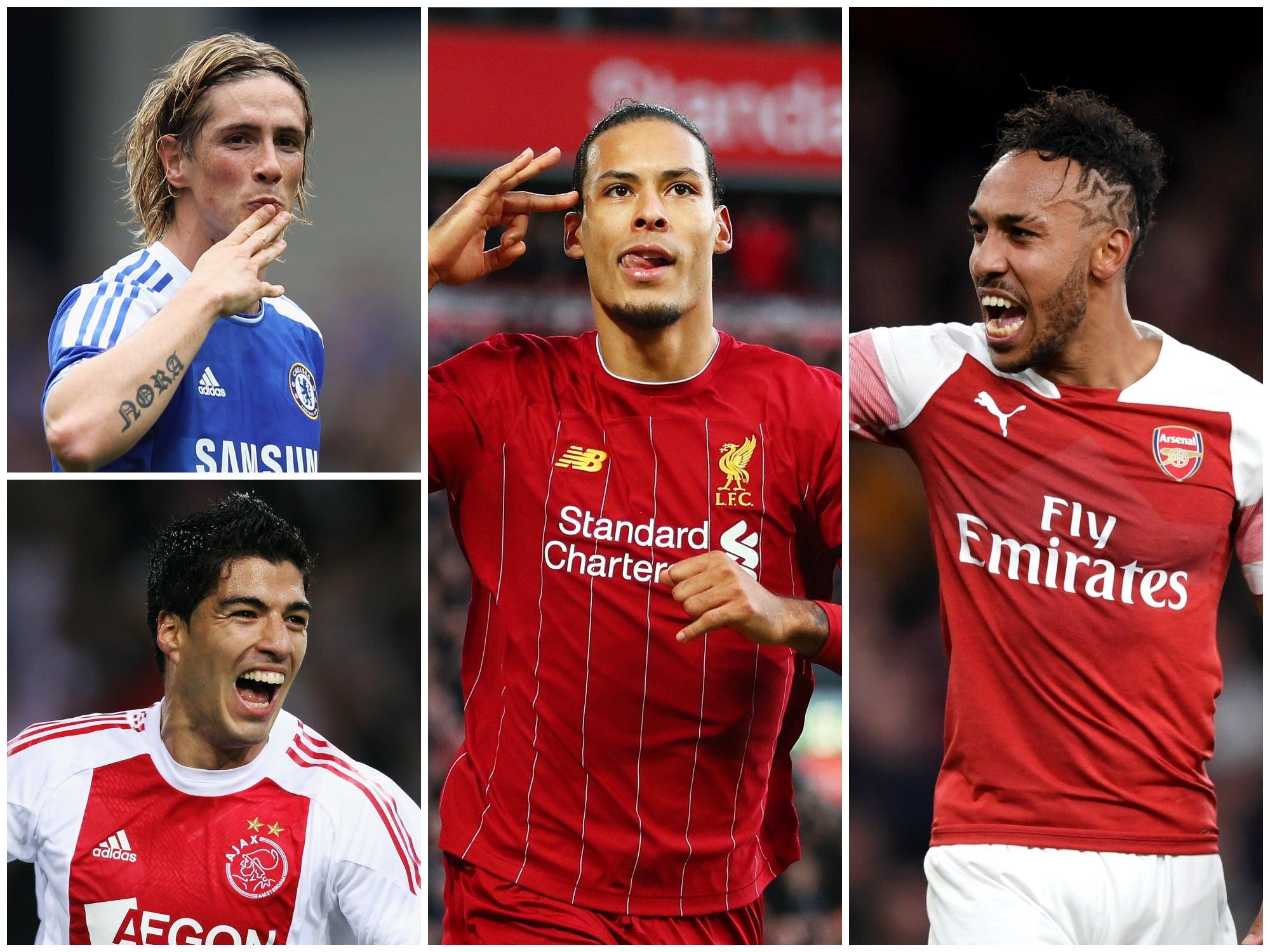 Virgil van Dijk to Pierre-Emerick Aubameyang: The 50 most expensive January transfer window signings