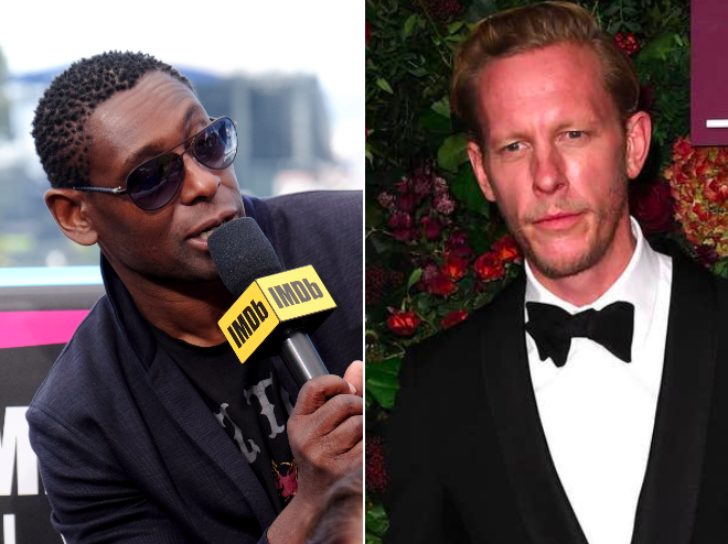David Harewood calls out Laurence Fox for black actor comments: 'He is an irrelevance to me'