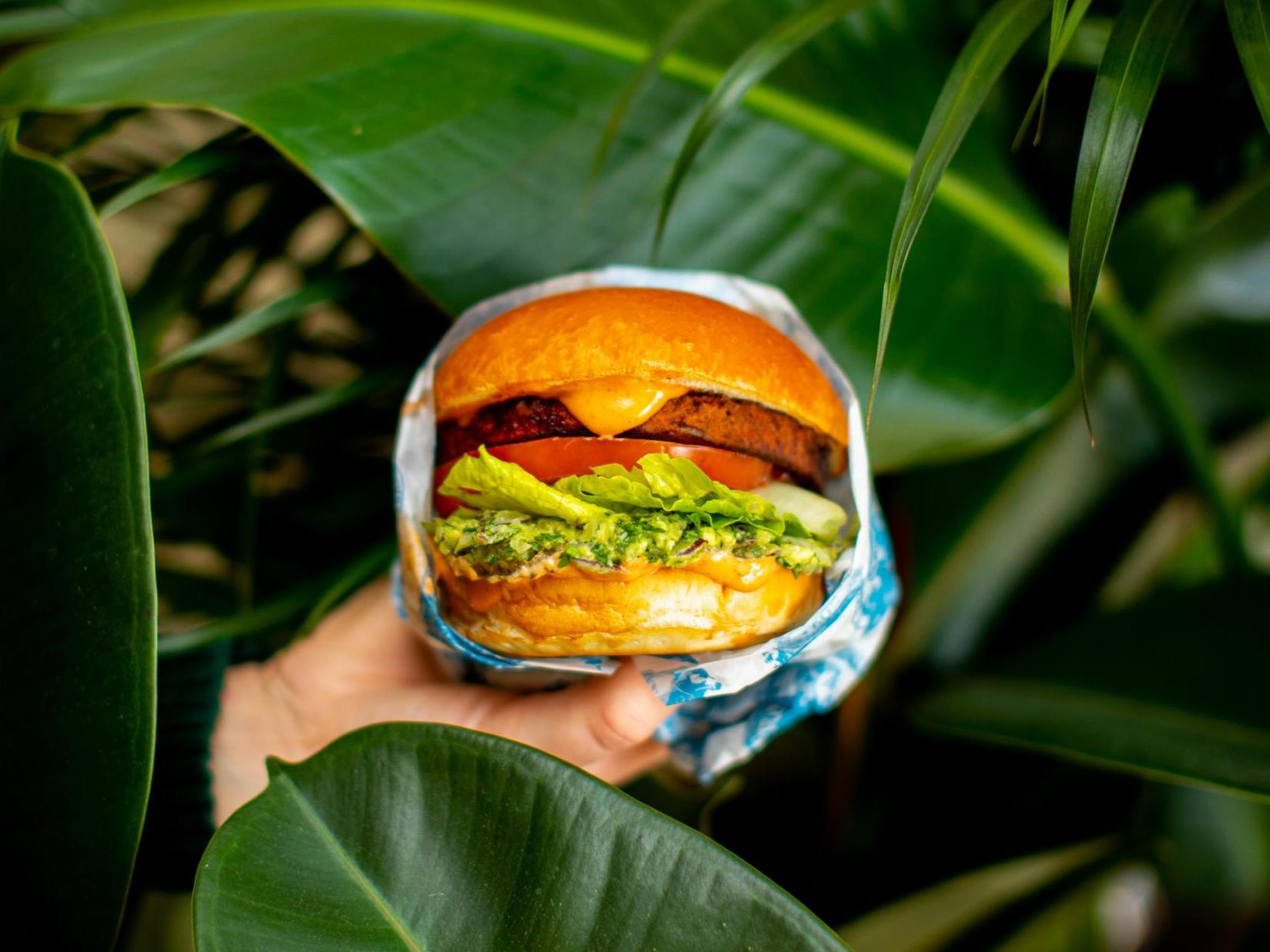 Vegan burgers outsell normal burgers at Leon as plant-based food surges in popularity