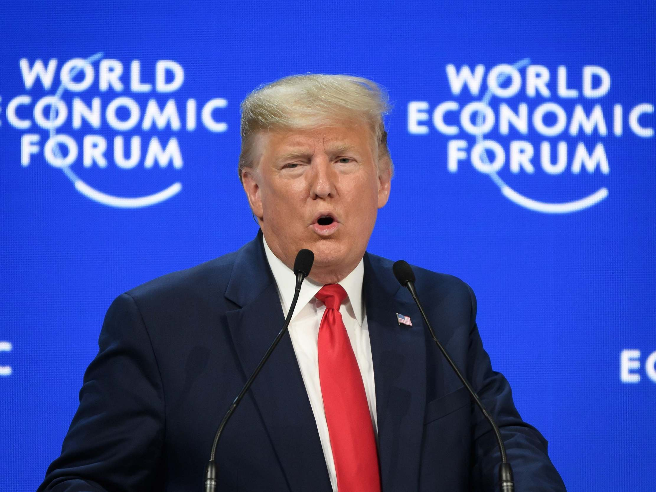 Trump's Davos speech instantly shot down by eminent economist: 'The characterisation of the economy is totally wrong'