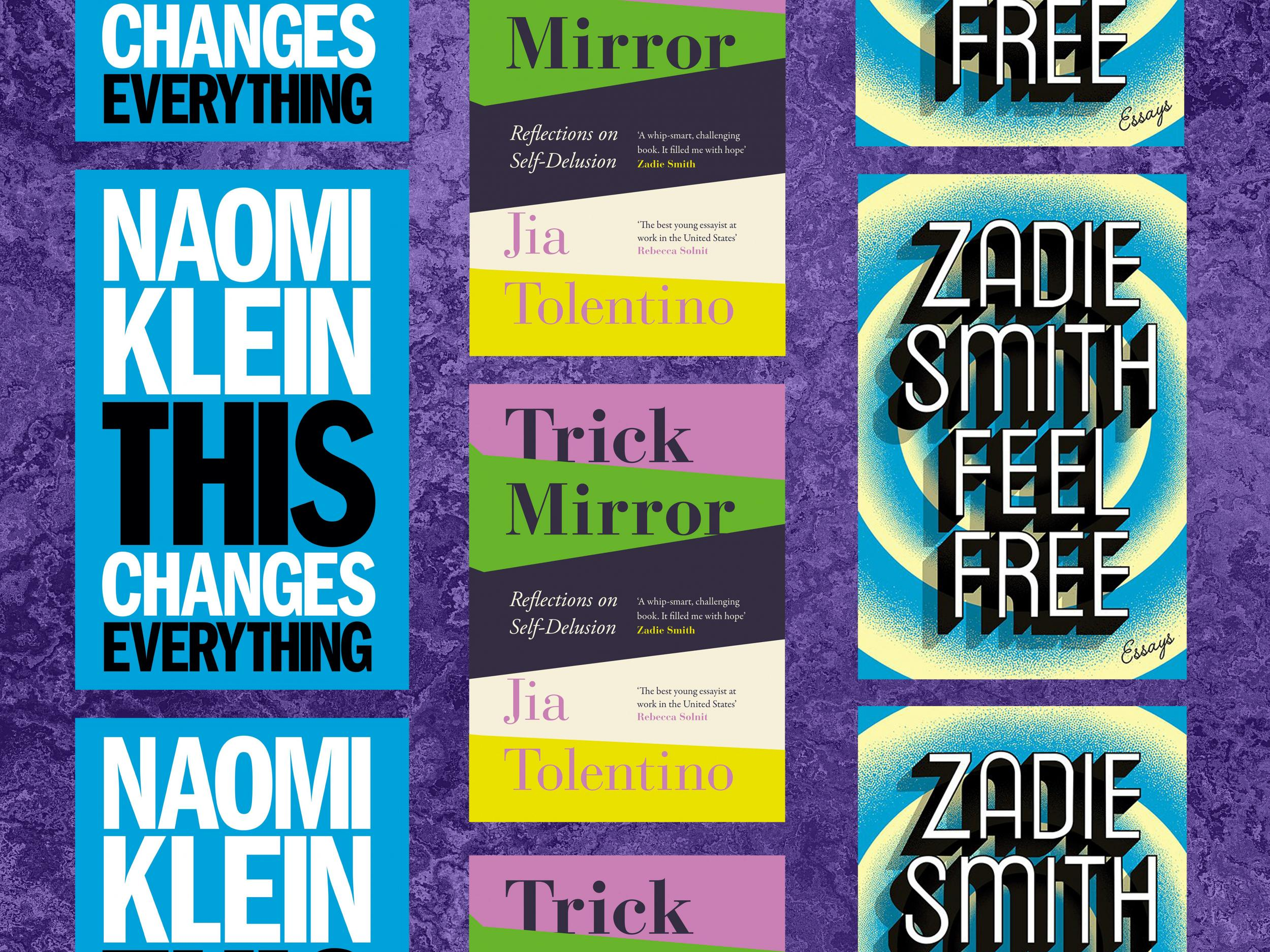 The decade's best essay collections, from Zadie Smith to Jia Tolenti…