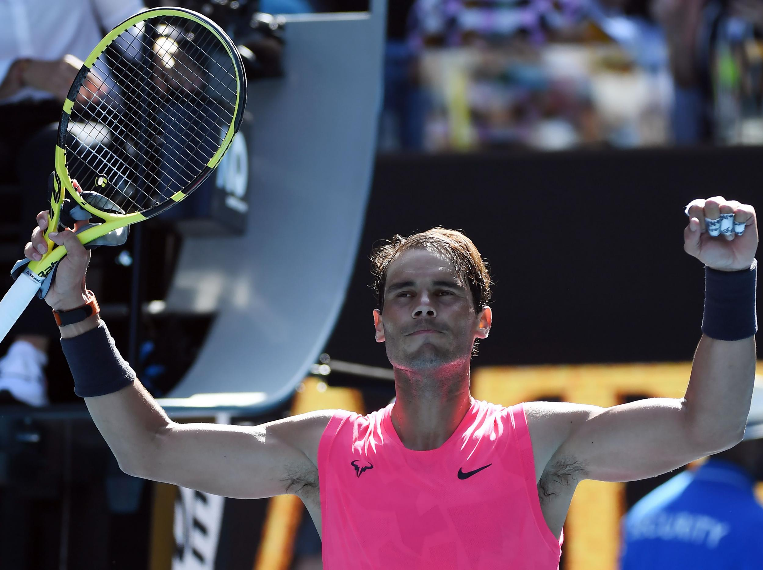 Rafa Nadal begins bid for 20th Grand-Slam title with routine opening Australian Open victory