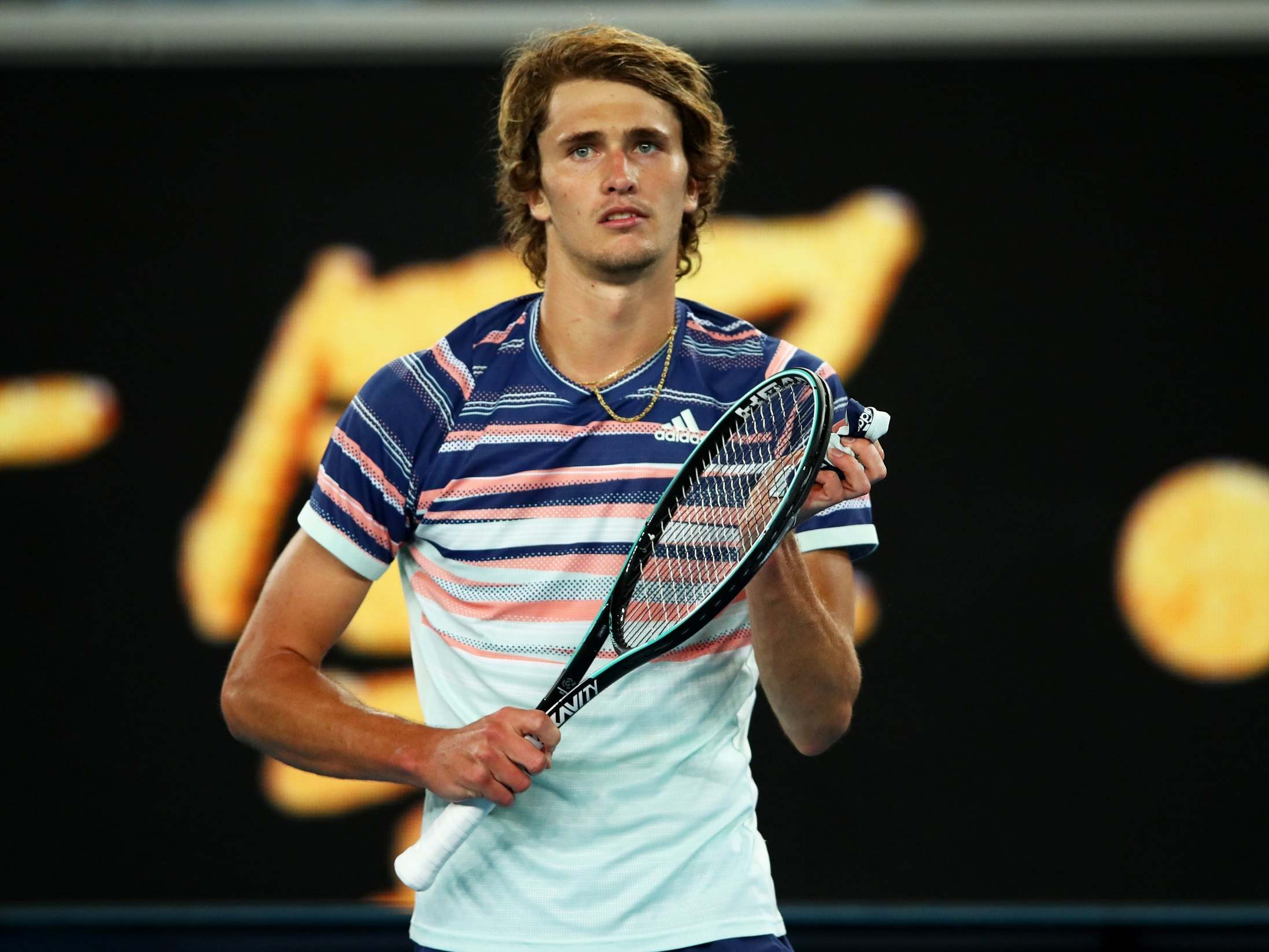 Alexander Zverev vows to donate £2.1m prize money if he wins Australian Open after first-round victory