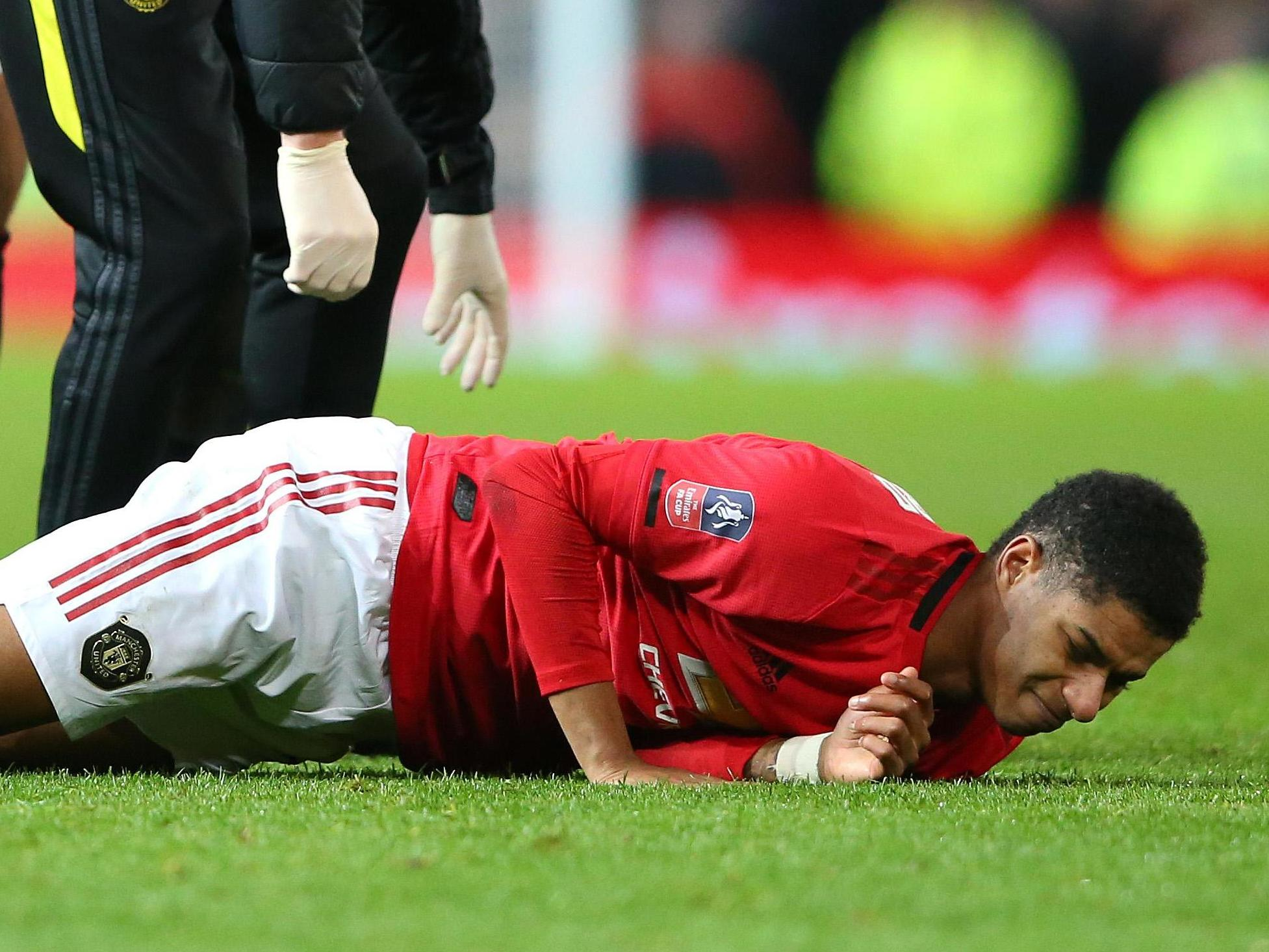 Marcus Rashford injury: Manchester United star 'touch and go' to be fit for England at Euro 2020