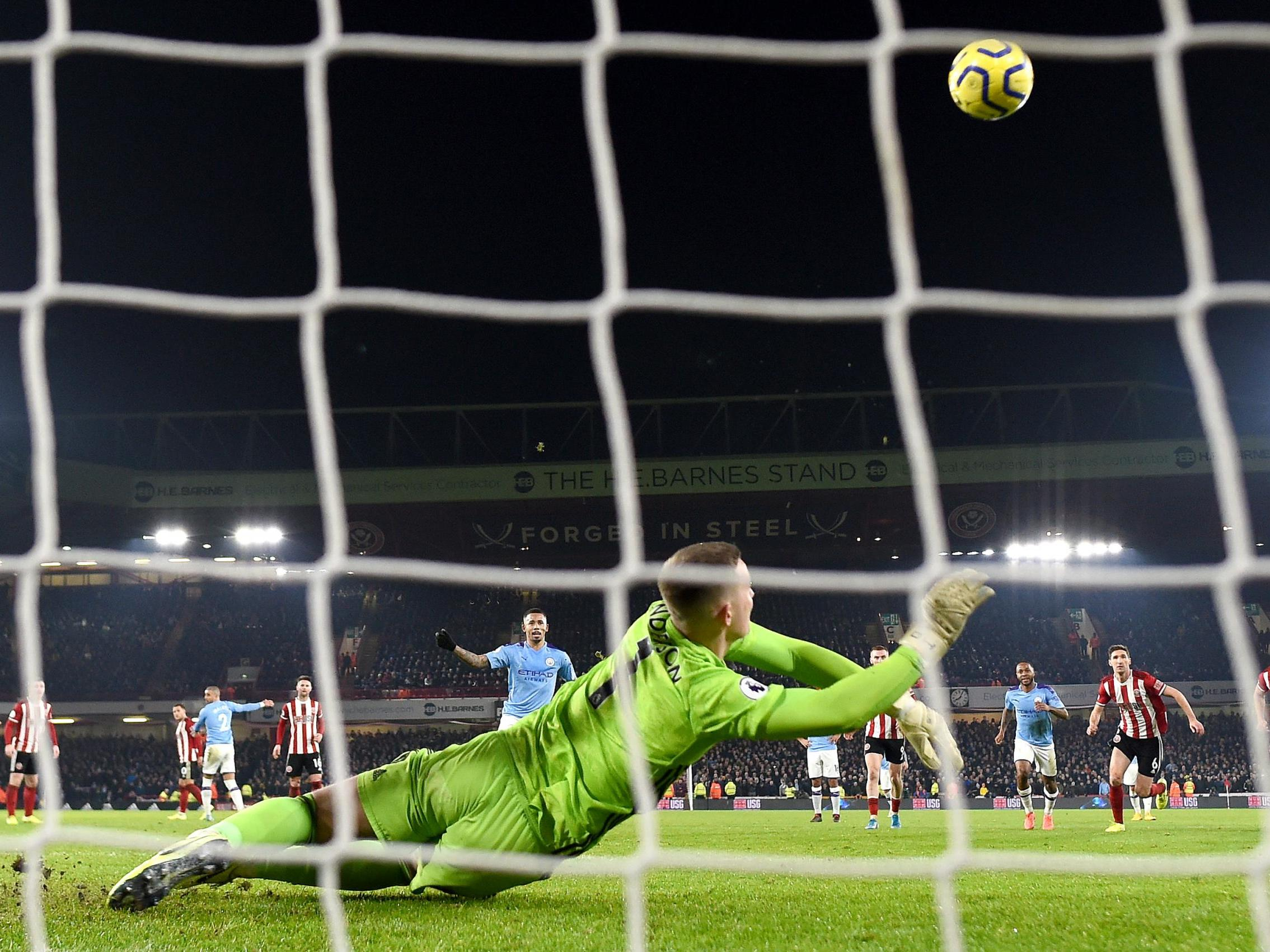 Sheffield United vs Manchester City: Why VAR did not order re-take of Gabriel Jesus missed penalty