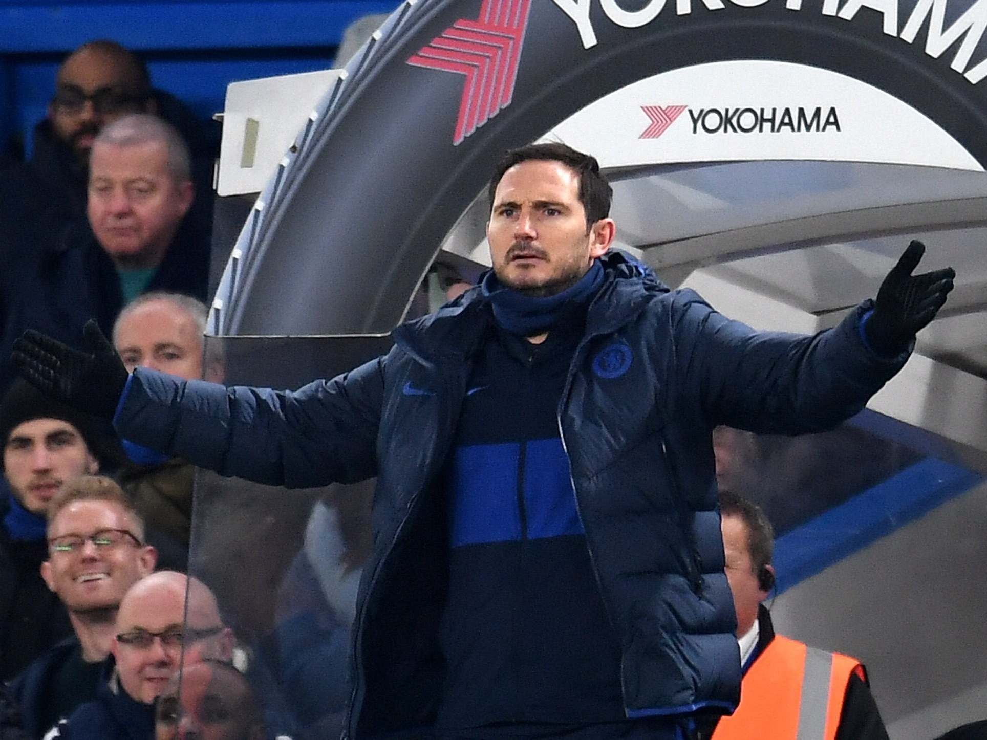 Frank Lampard rues 'basic errors' against Arsenal and reiterates desire to sign a new striker