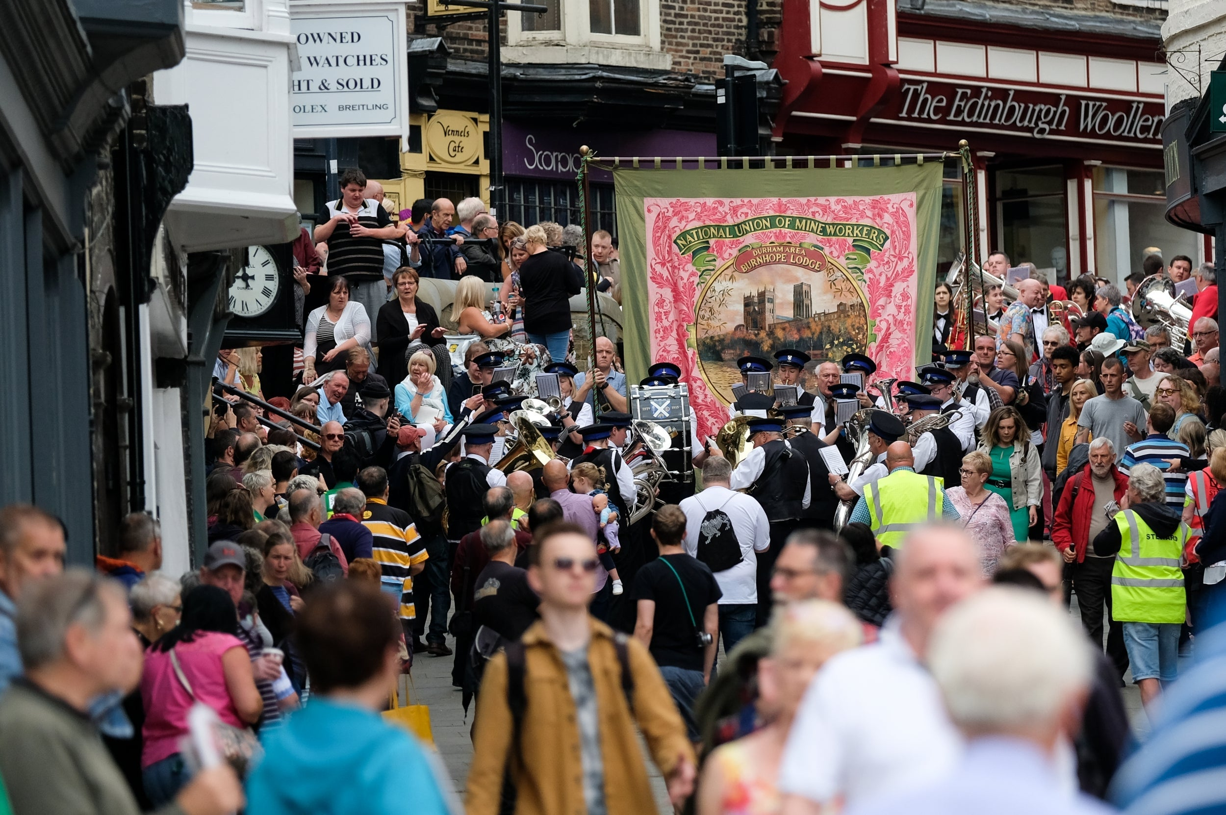 Durham Miners' Gala: Tory MP mocked for claiming Labour is 'culturally appropriating' trade union event