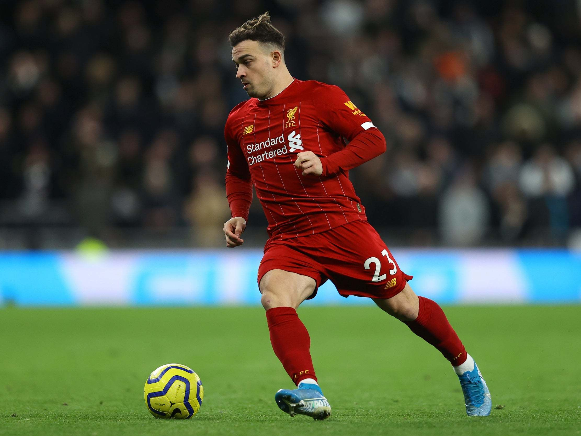 Liverpool Transfer News Jurgen Klopp S Verdict On Xherdan Shaqiri S Future The Independent The Independent
