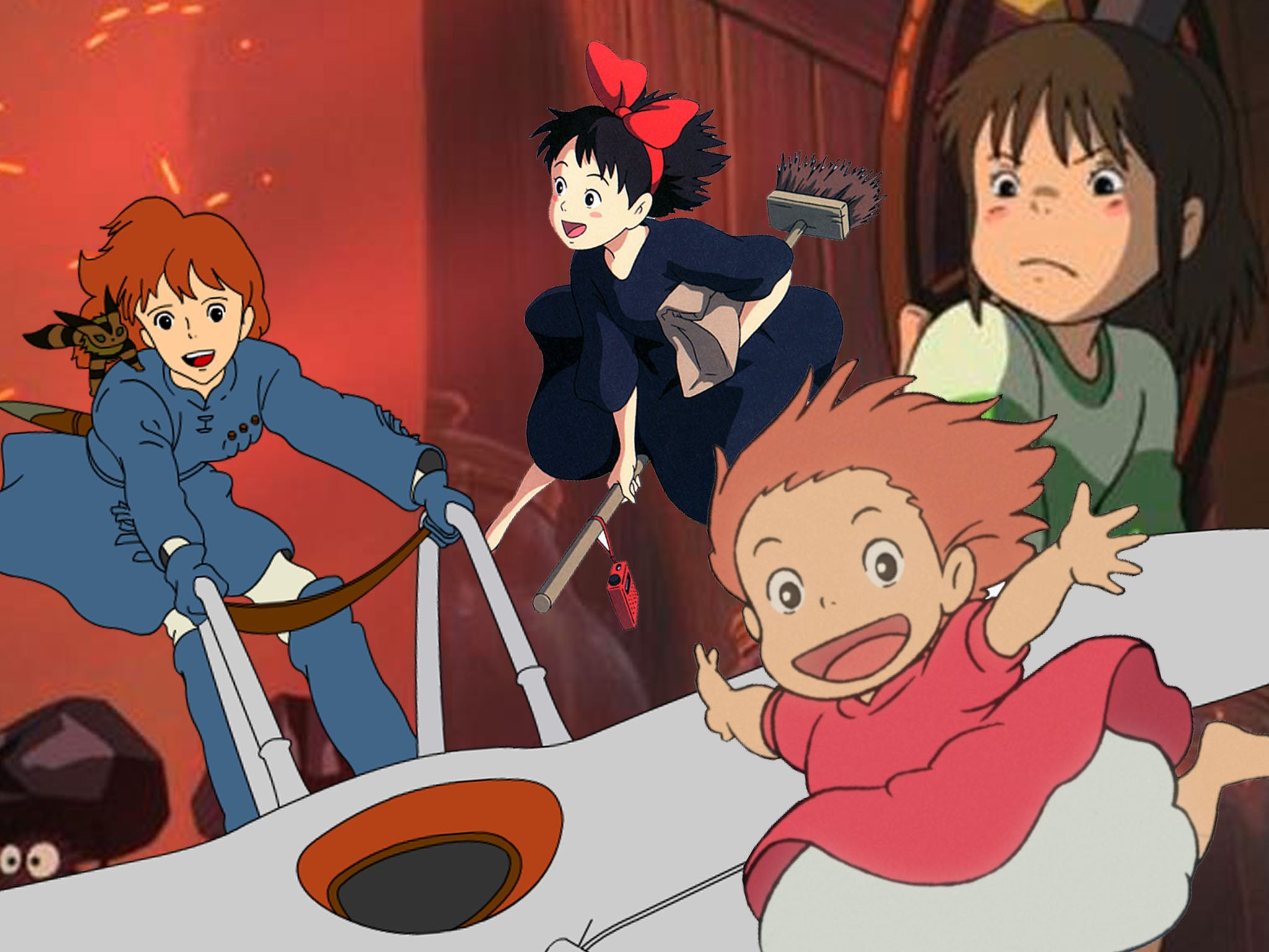 It S Good To Be Alive The Studio Ghibli Films Are Coming To Netflix At Just The Right Time The Independent The Independent