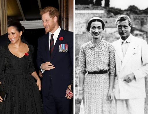 The other American: Should we compare Meghan and Harry to Wallis and…