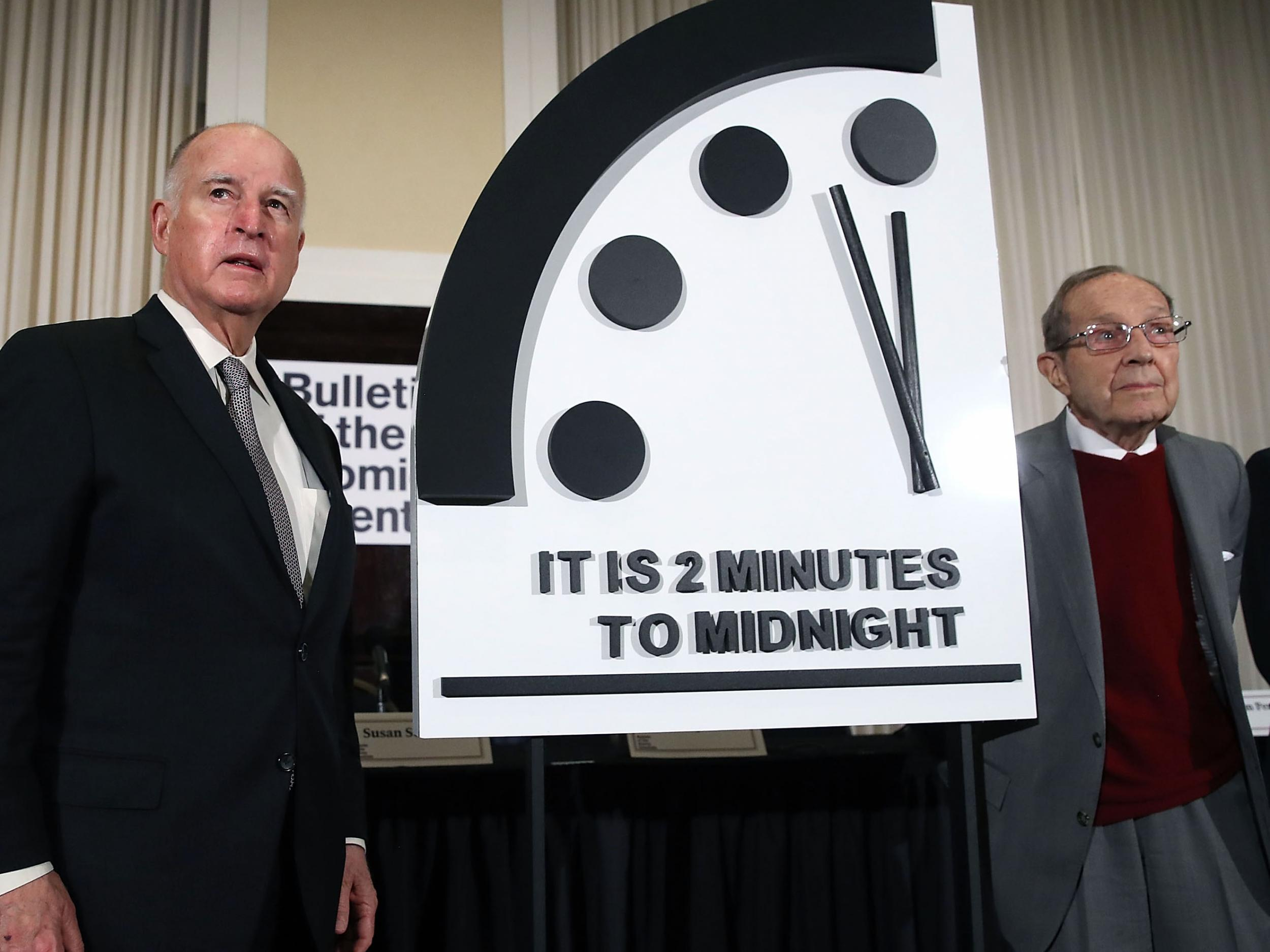 Doomsday clock announcement - live: Scientists to reveal how close the world is to 'midnight' amid worldwide tensions