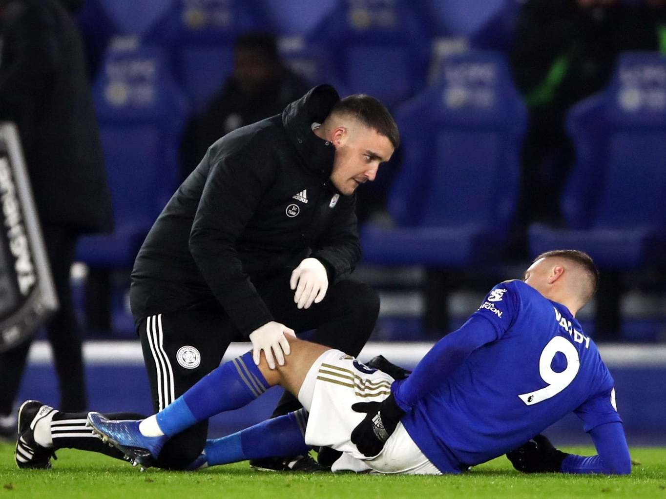 Jamie Vardy injury: Leicester City manager Brendan Rodgers allays fears of major injury