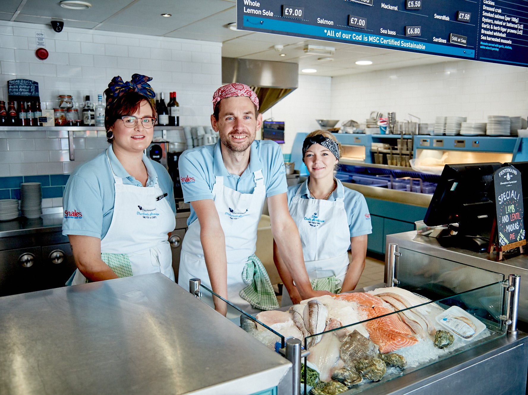 The Cod S Scallops Nottingham Chippy Named Best In Uk Despite Being 80 Miles From Coast The Independent The Independent