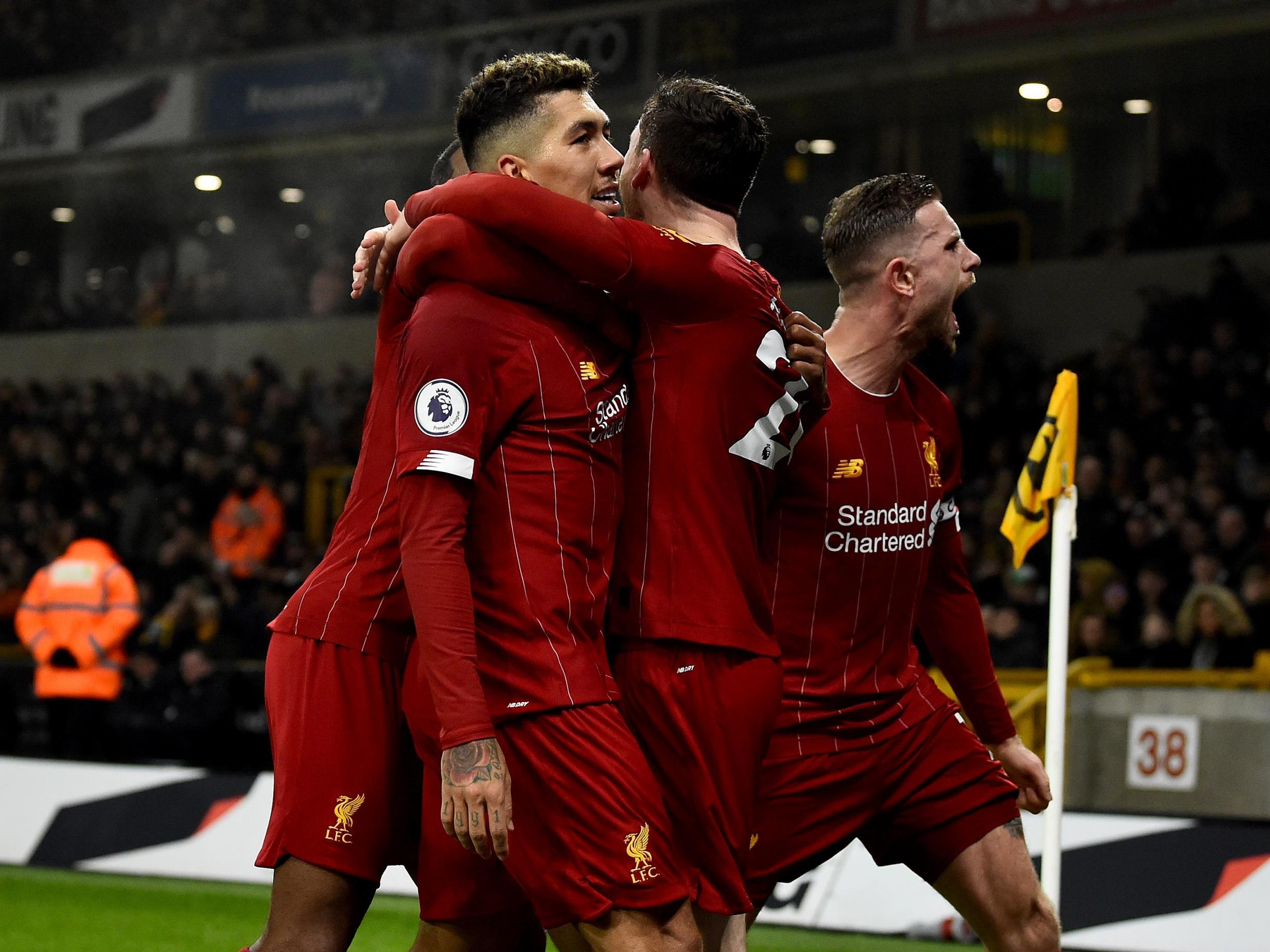 Roberto Firmino hits late winner as Liverpool get the job done in absorbing encounter against Wolves