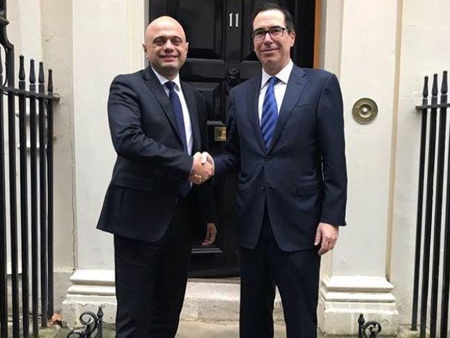 Brexit: Boris Johnson's hopes of US trade deal rest on progress in EU talks, warns Mnuchin