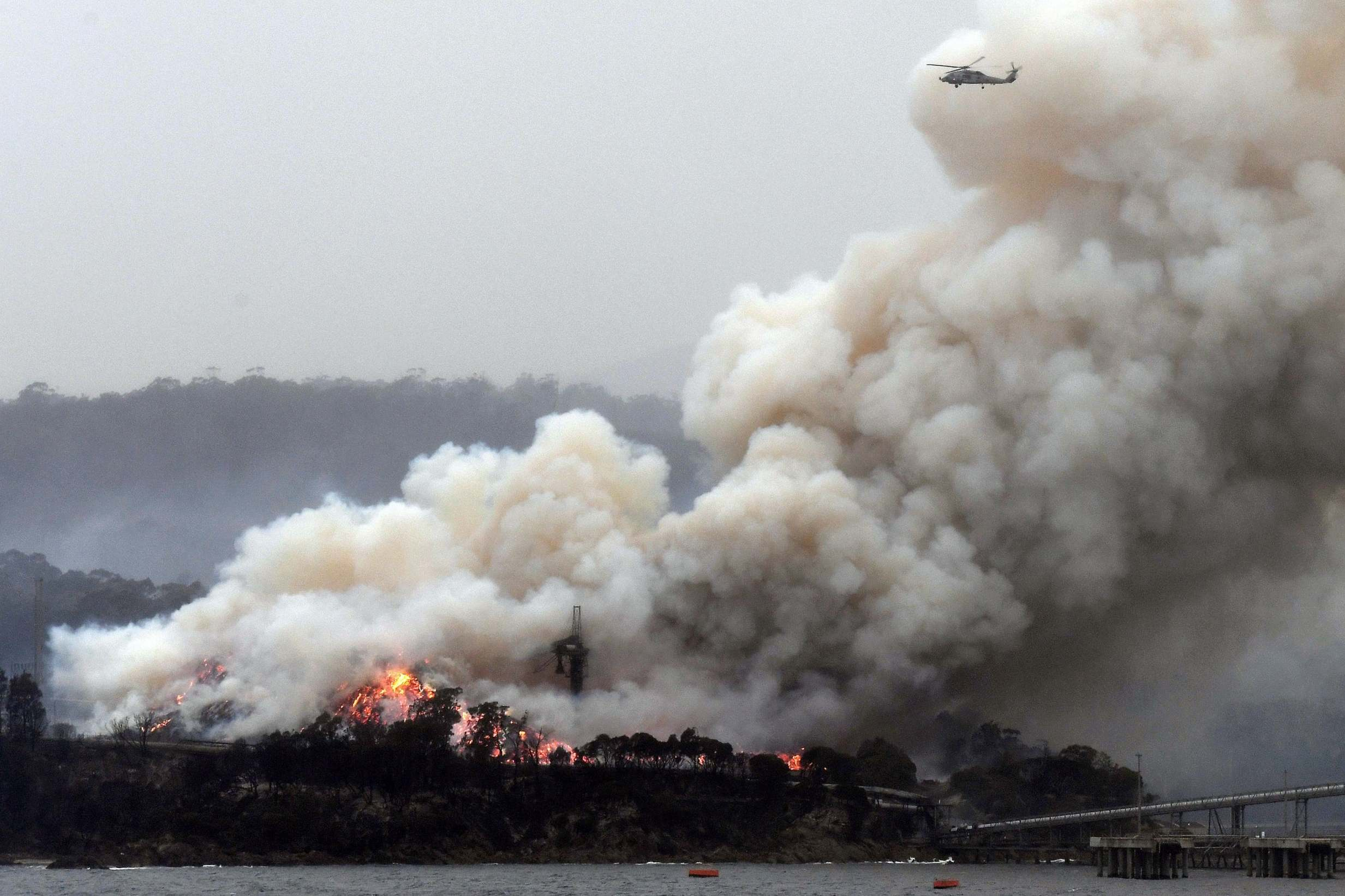 Australia fires: Yearly greenhouse gas emissions nearly double due to historic blazes