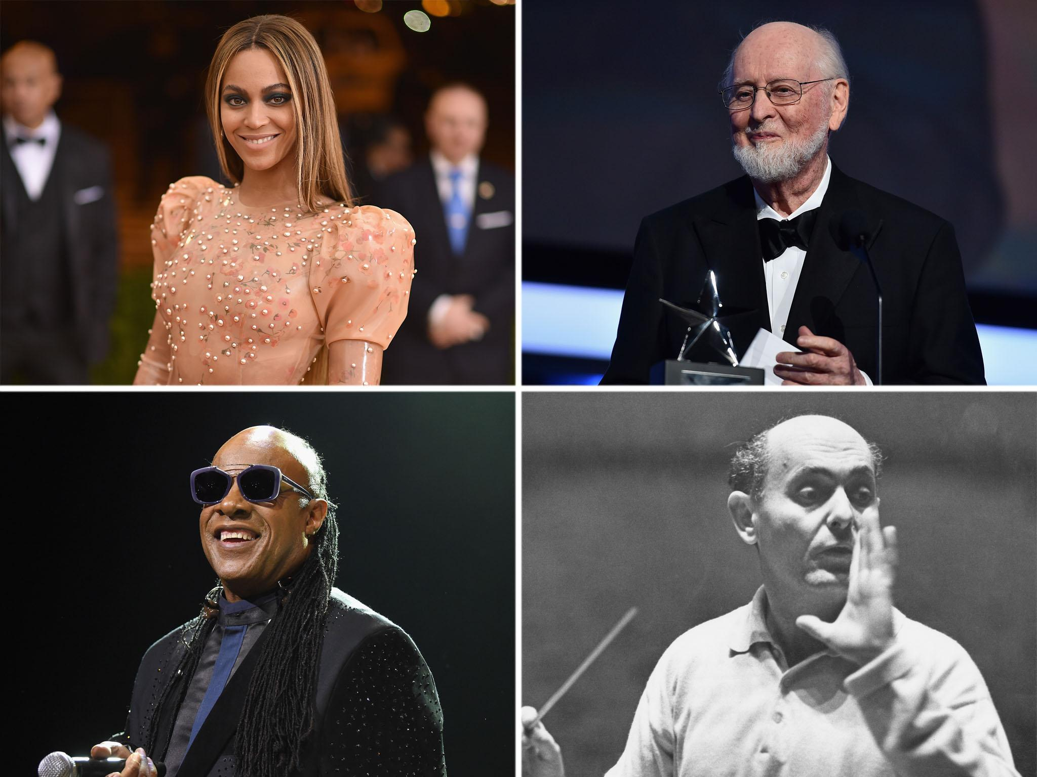 The 11 artists with the most Grammy Awards